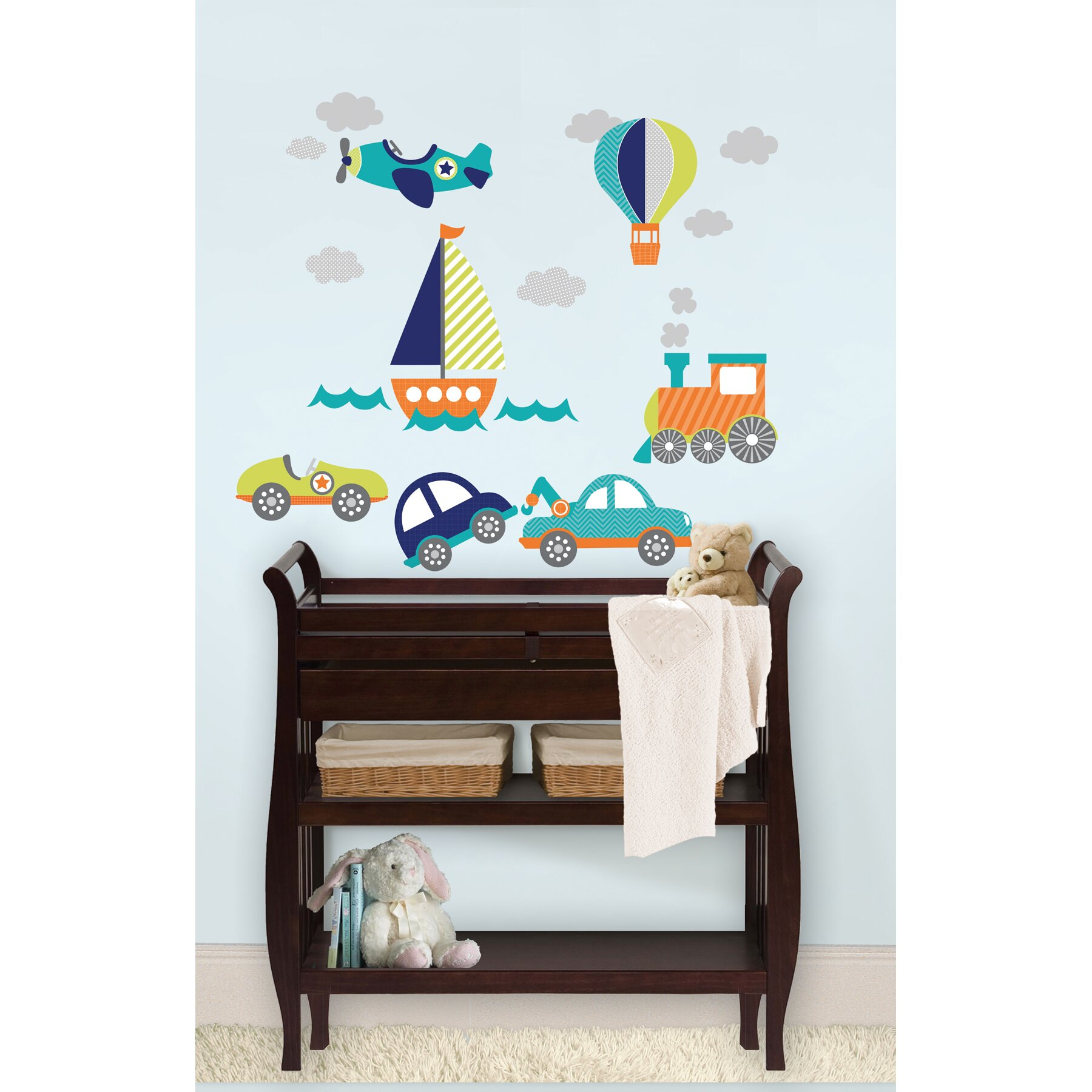 Wall Art Stickers Next Day Delivery : Wallpops wall art kit on the go piece decal set