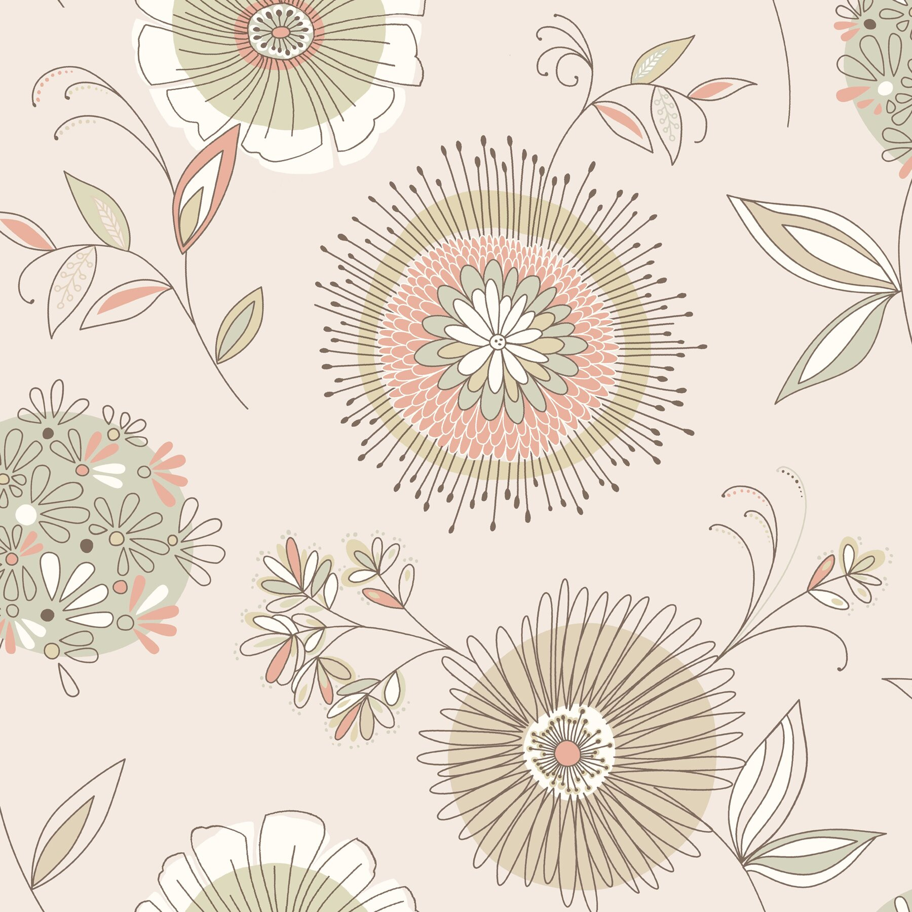 Brewster home fashions simple space ii maisie 33 39 x 20 5 for 3d embossed wallpaper