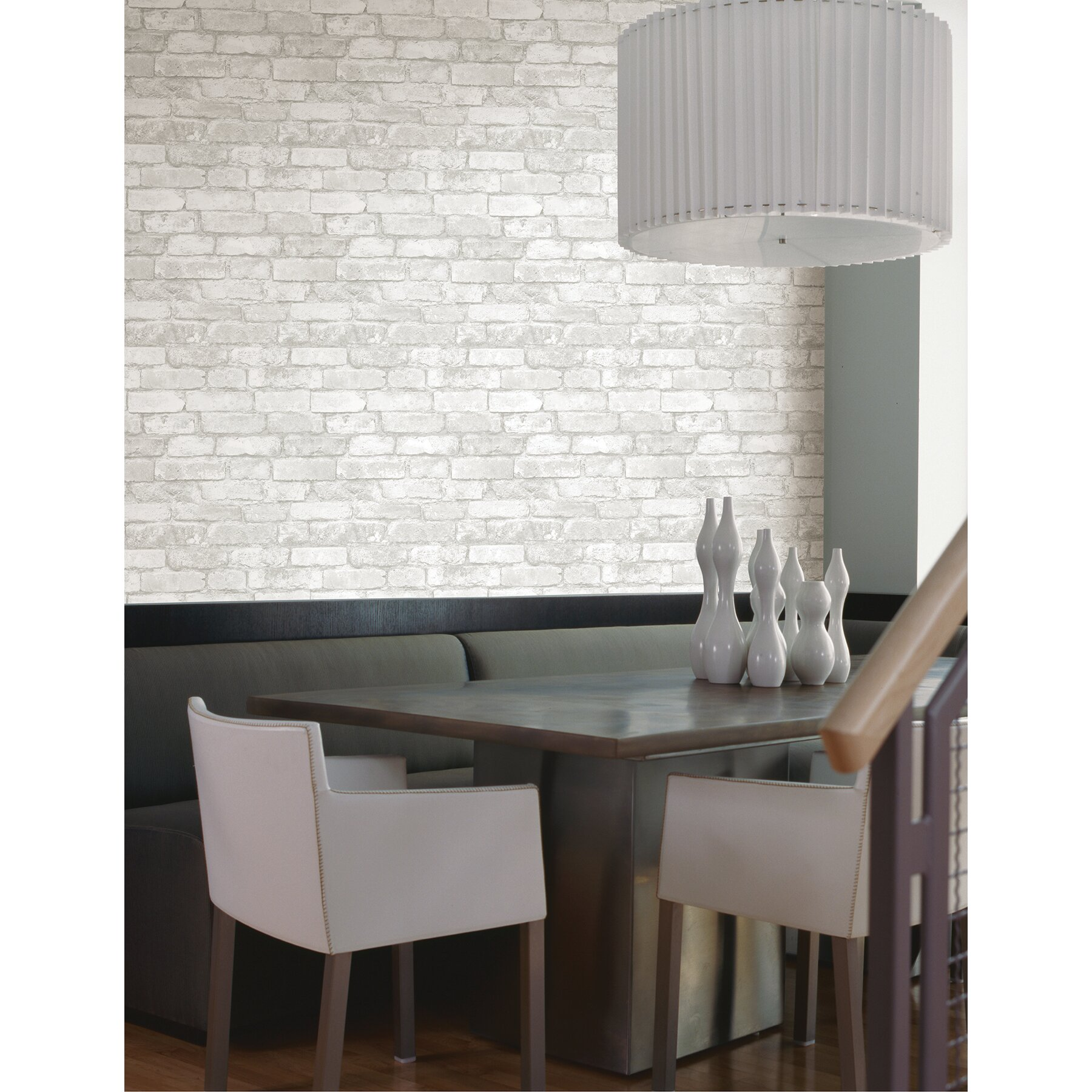 Brewster home fashions oxford brickwork exposed 33 39 x 20 5 for Brick wallpaper sale