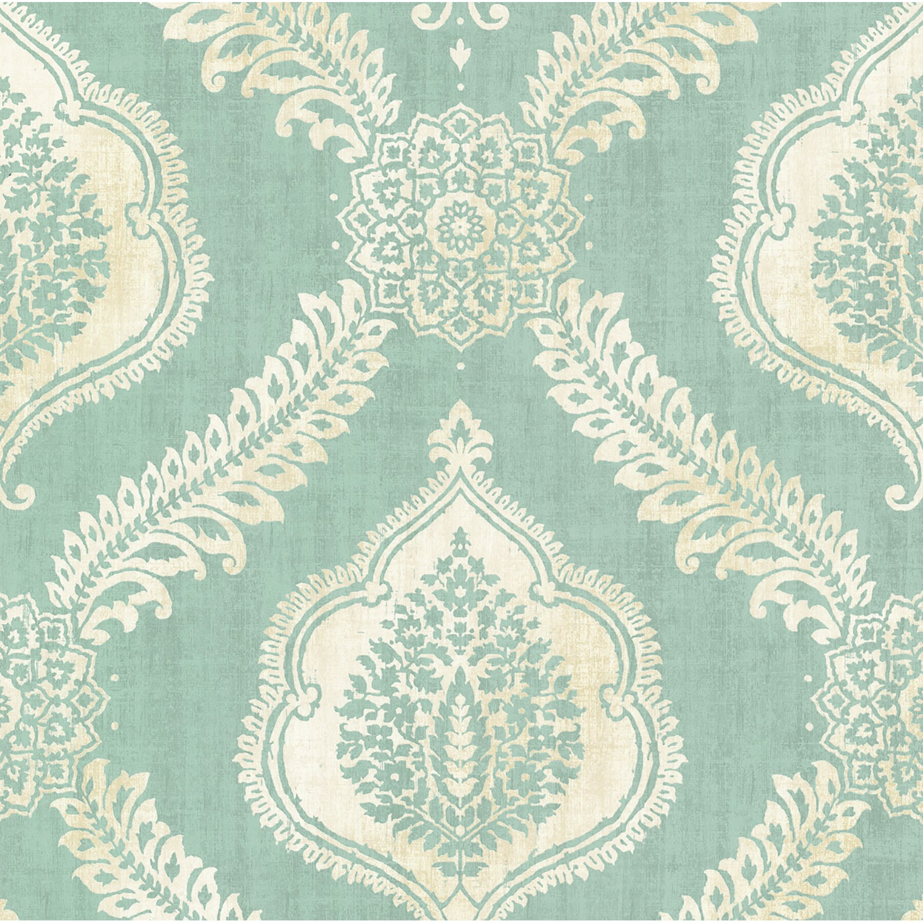 Brewster home fashions alhambra zoraya 33 39 x 20 5 damask for 3d embossed wallpaper