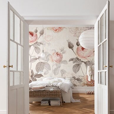 Brewster home fashions komar la maison wall mural for Brewster birch wall mural
