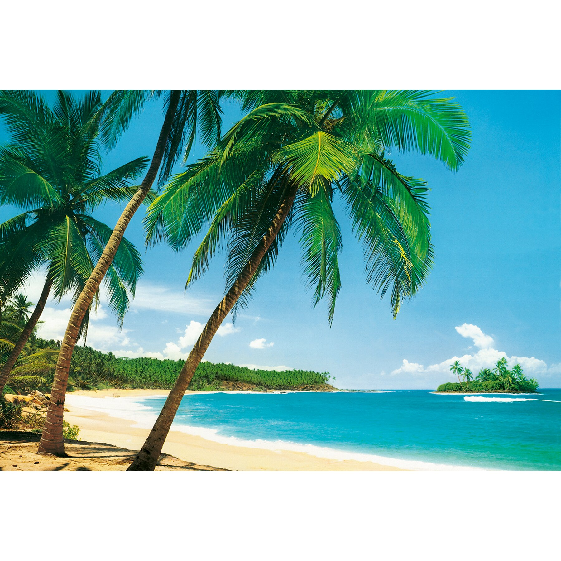 Brewster home fashions ideal decor ile tropicale wall for Brewster wall mural