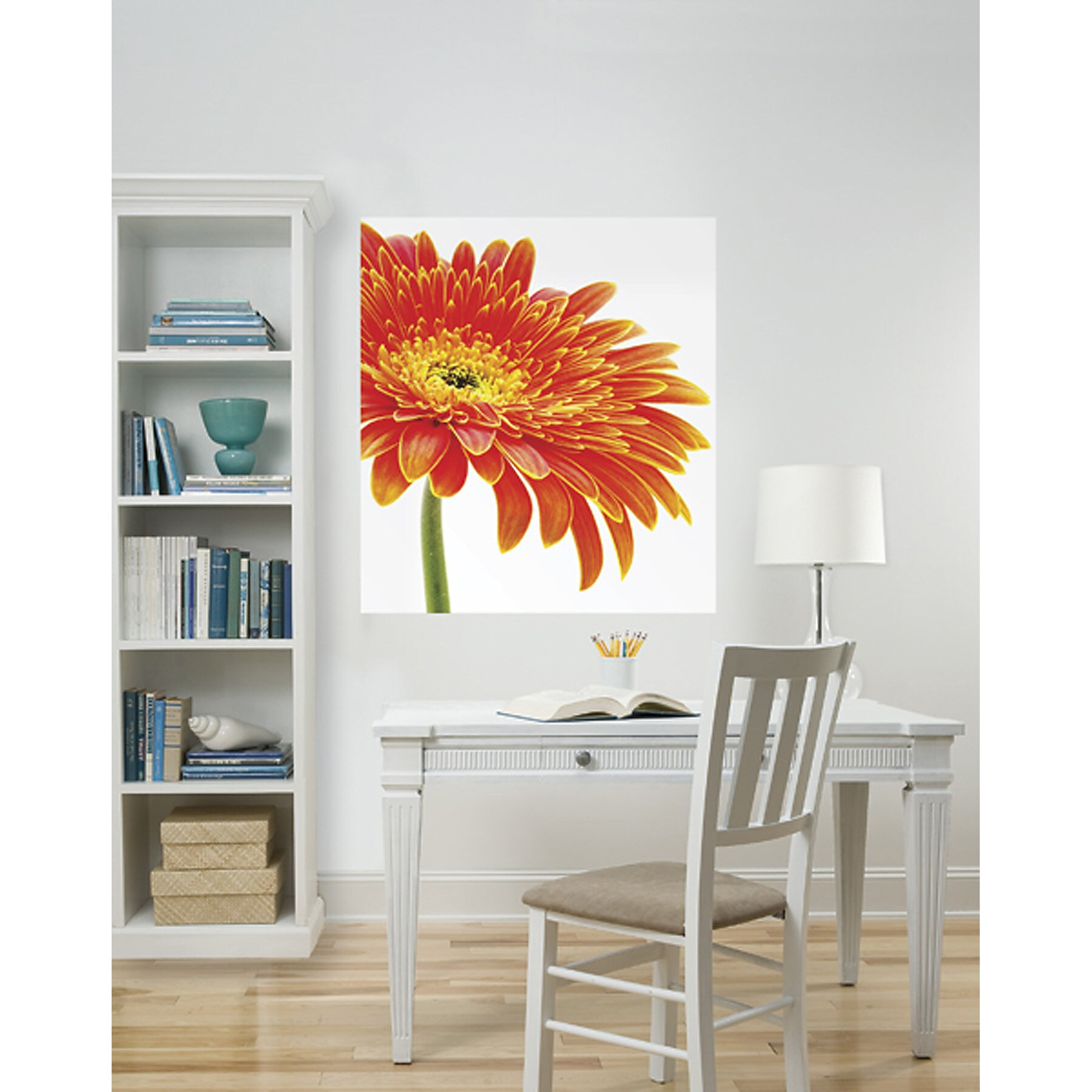 Brewster home fashions wallpops art kits daisy for Daisy fuentes wall mural