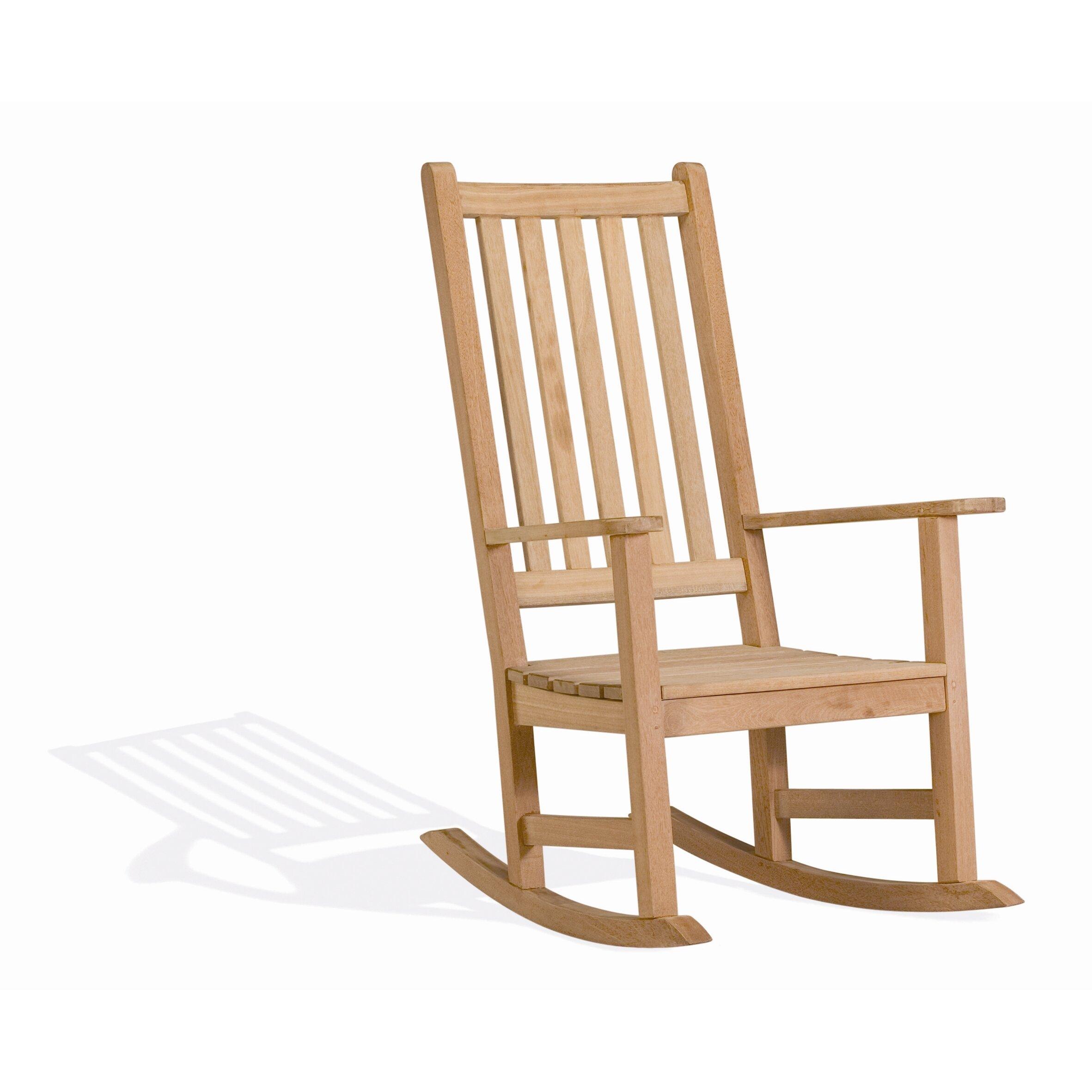 Oxford Garden Franklin Rocking Chair Reviews Wayfair