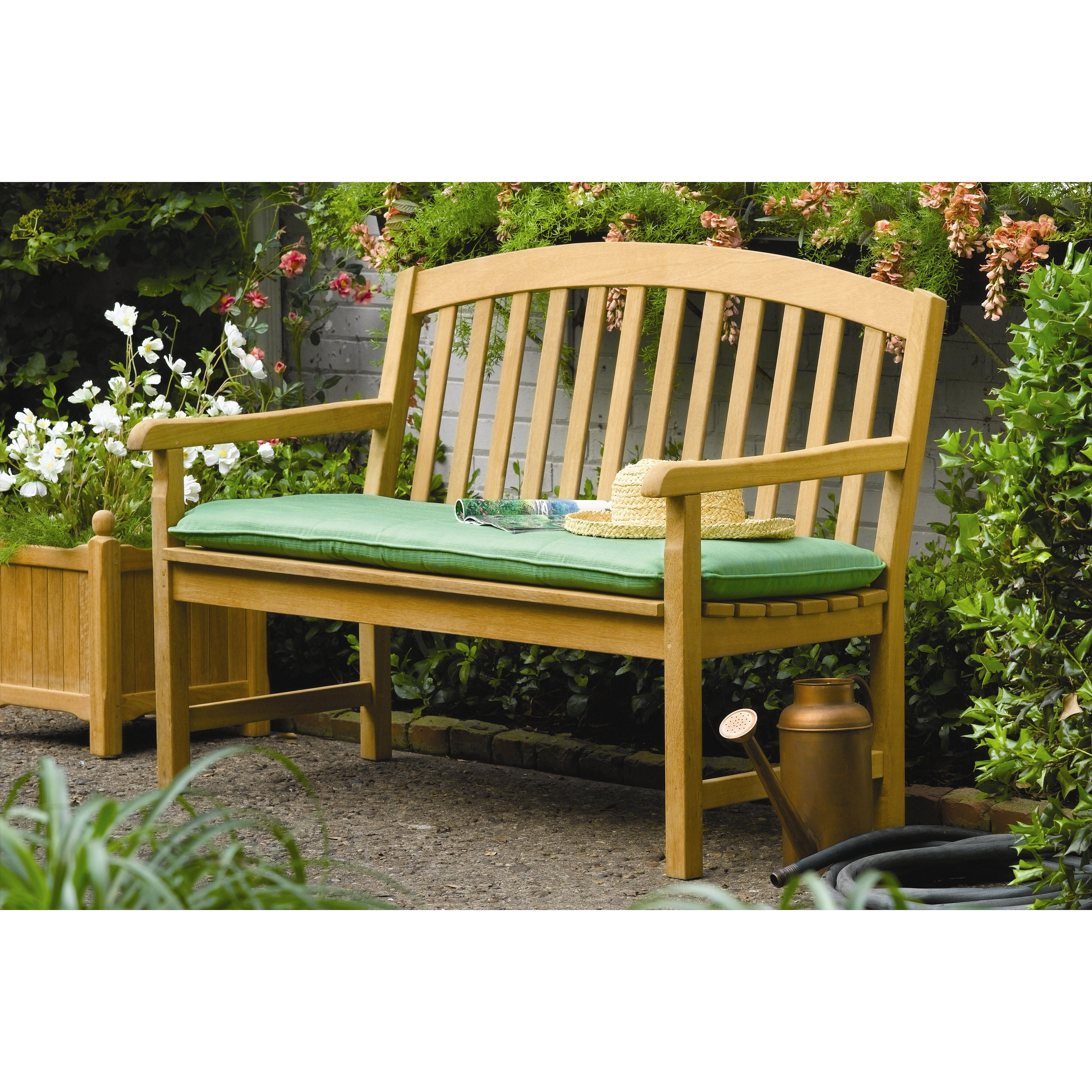 Wooden Benches Outdoor: Oxford Garden Chadwick Wood Garden Bench & Reviews
