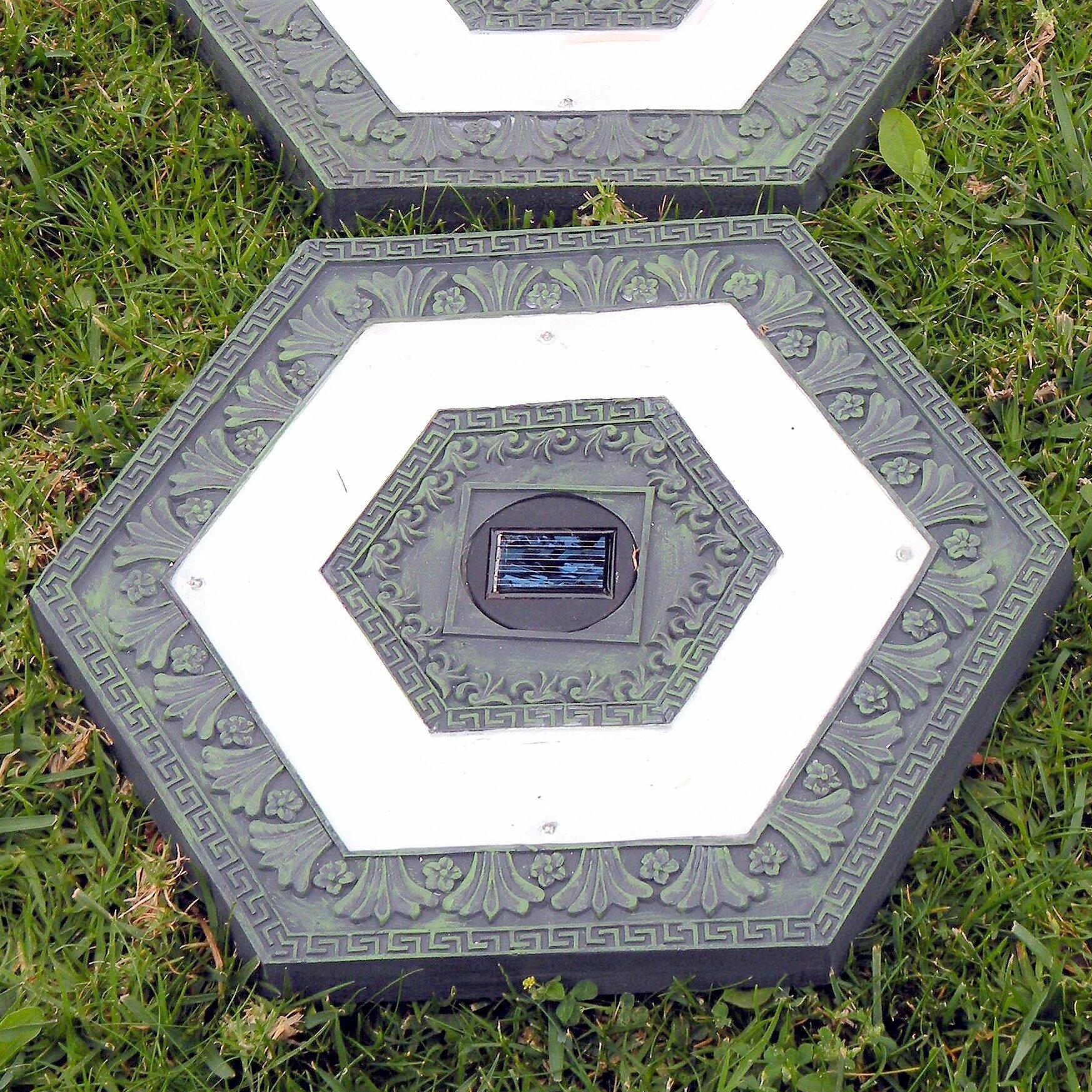 Homebrite Solar Solar 4 Light LED Landscape Lighting Kit