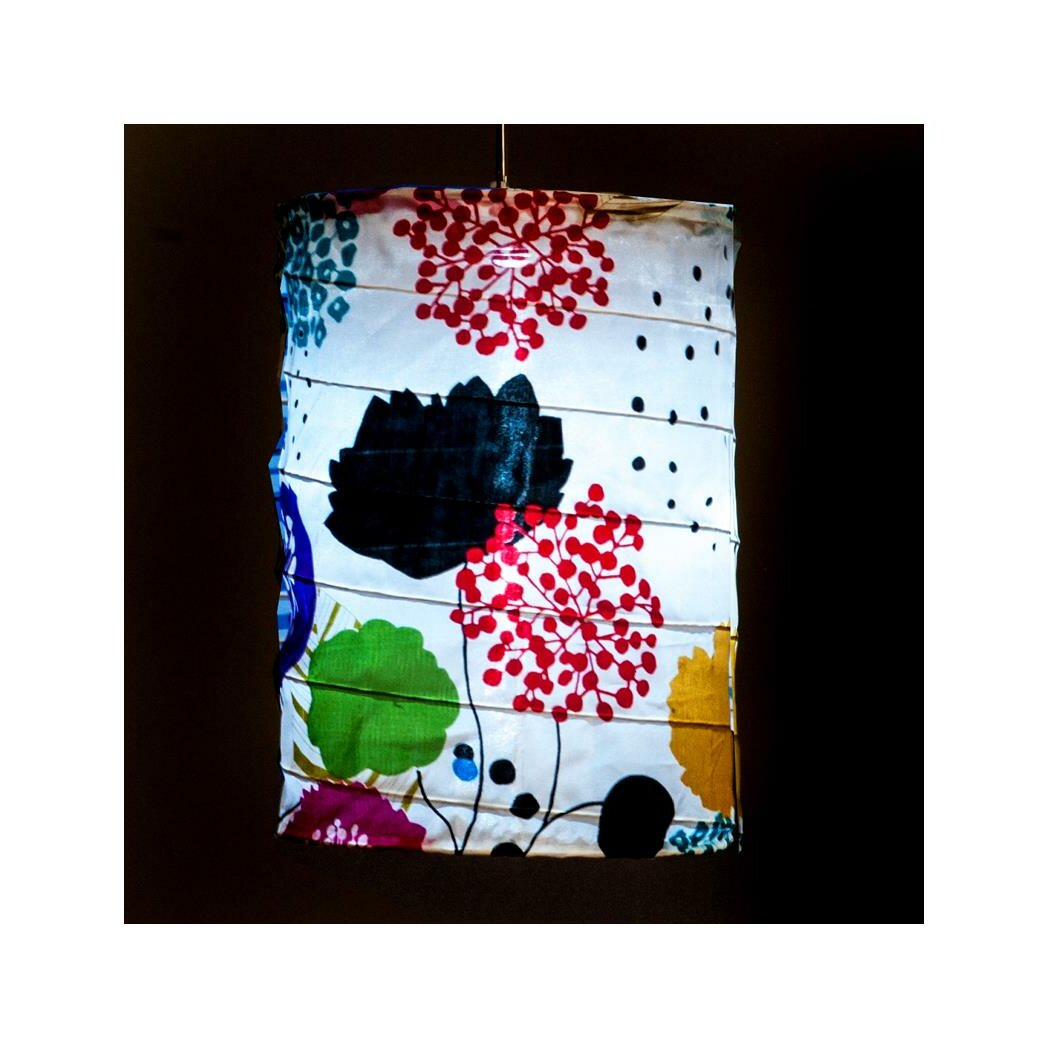 Allsop Home And Garden Soji Solar Floral Cylinder Hanging
