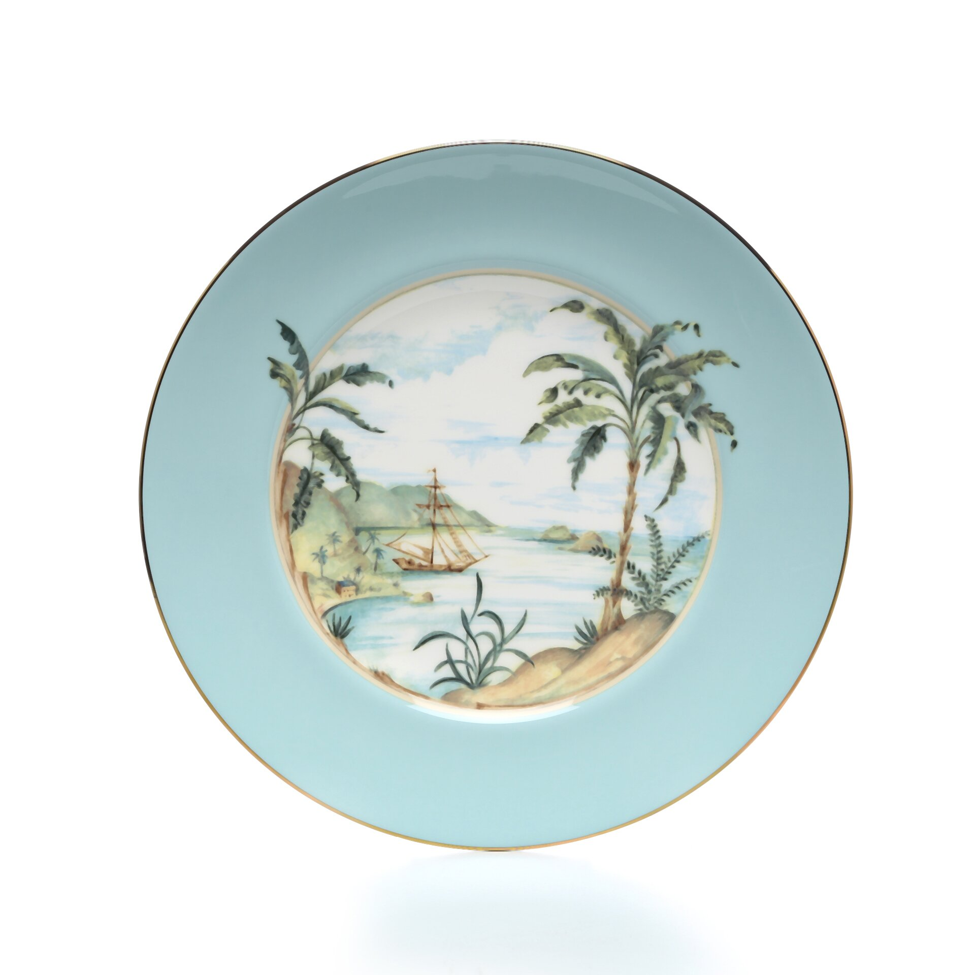 Lenox Colonial Tradewind 9 Quot Charger Plate Amp Reviews Wayfair