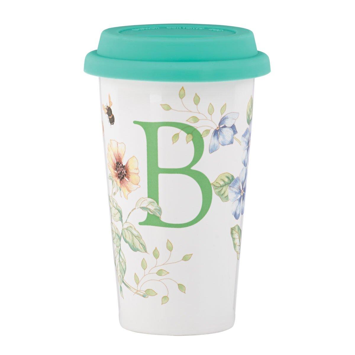 Lenox Butterfly Travel Mug