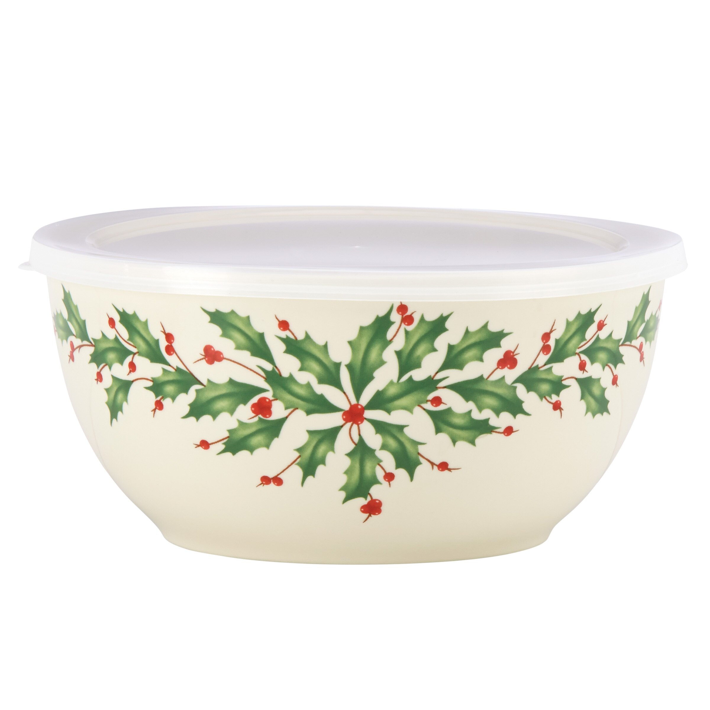 lenox holiday serving bowl with lid reviews wayfair. Black Bedroom Furniture Sets. Home Design Ideas