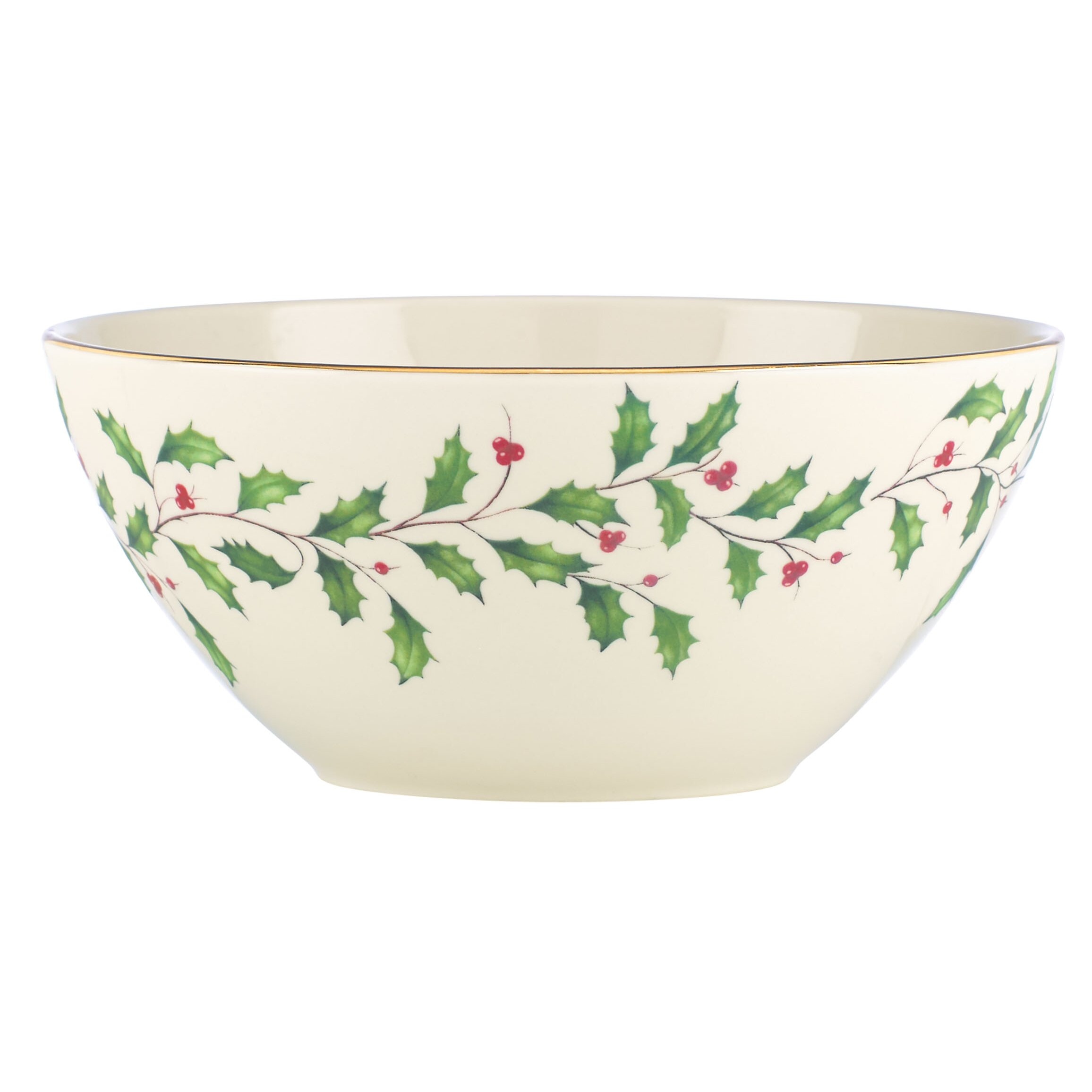 Lenox Holiday Serving Bowl Wayfair