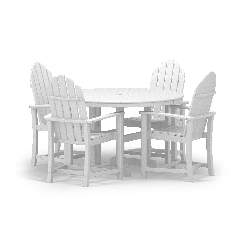 Polywood Classic 5 Piece Dining Set Reviews Wayfair