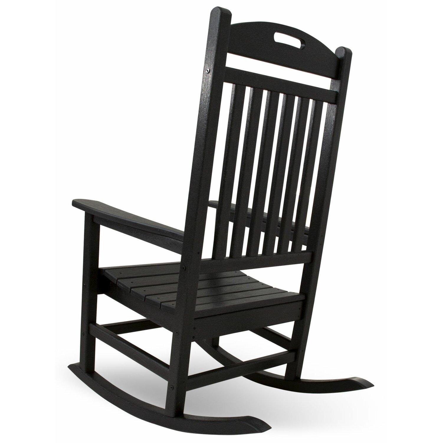 POLYWOOD Yacht Club Rocking Chair & Reviews