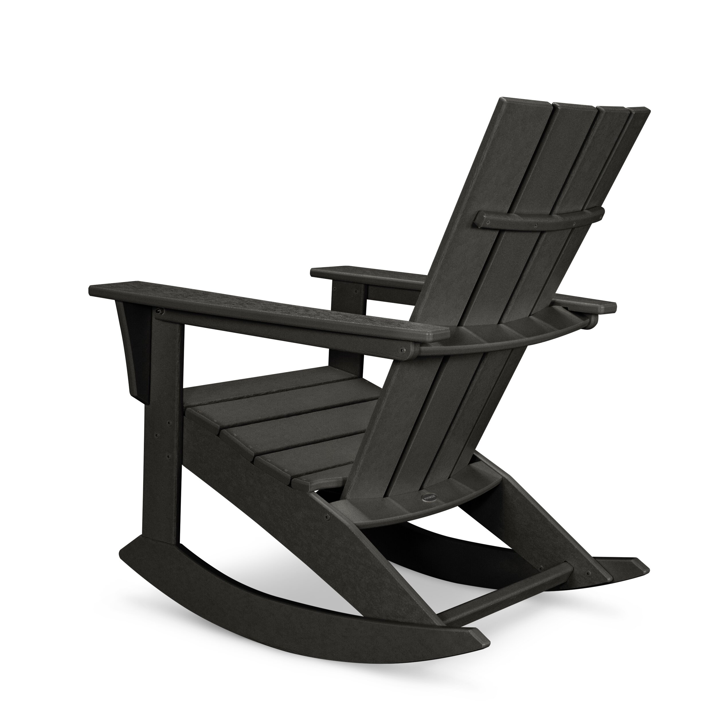 Polywood Quattro Adirondack Rocker Chair Reviews Wayfair