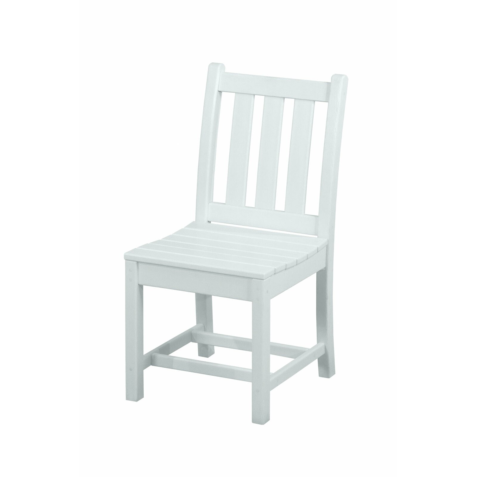 Polywood Traditional Garden Dining Side Chair Reviews Wayfair