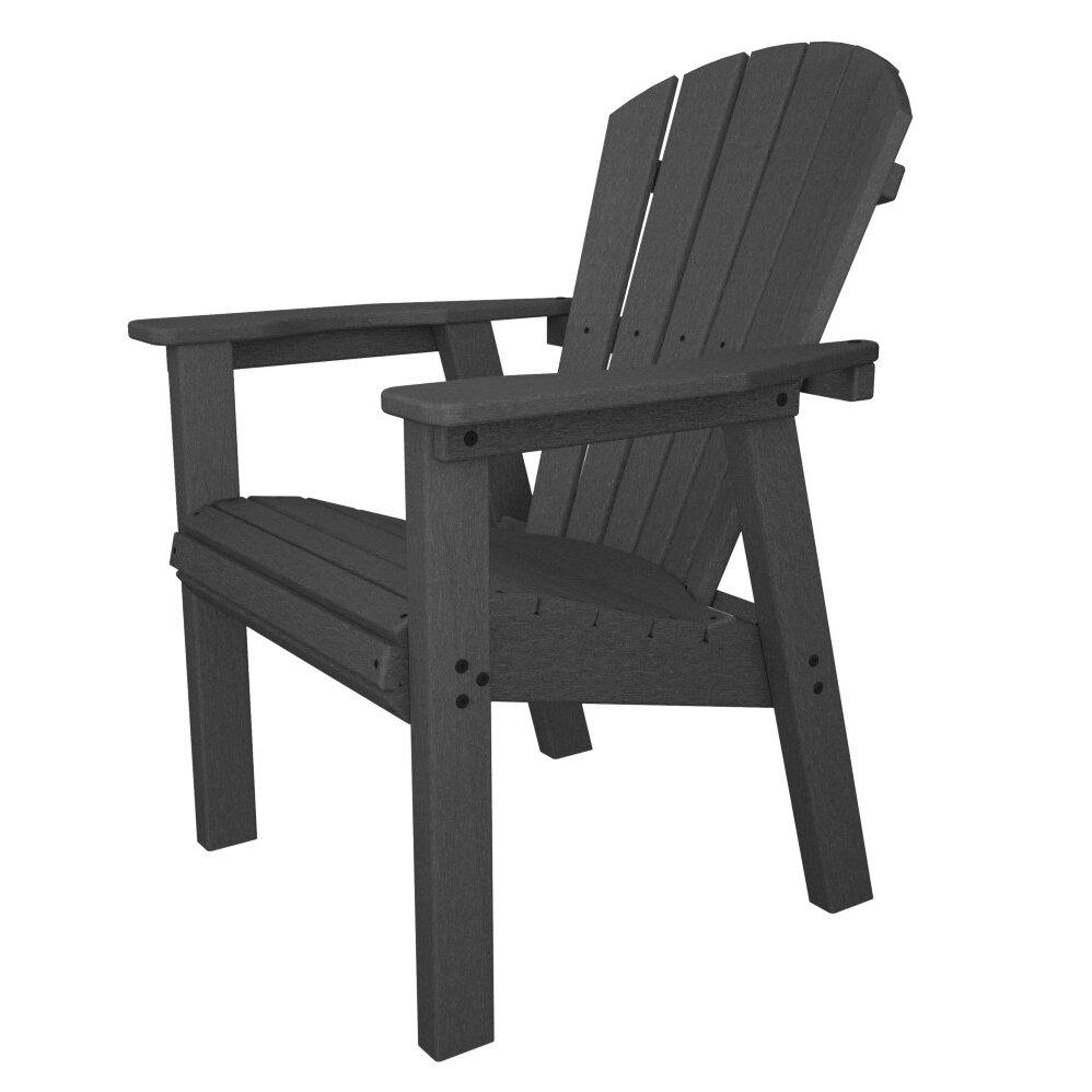 Polywood Seashell Adirondack Casual Chair Reviews Wayfair