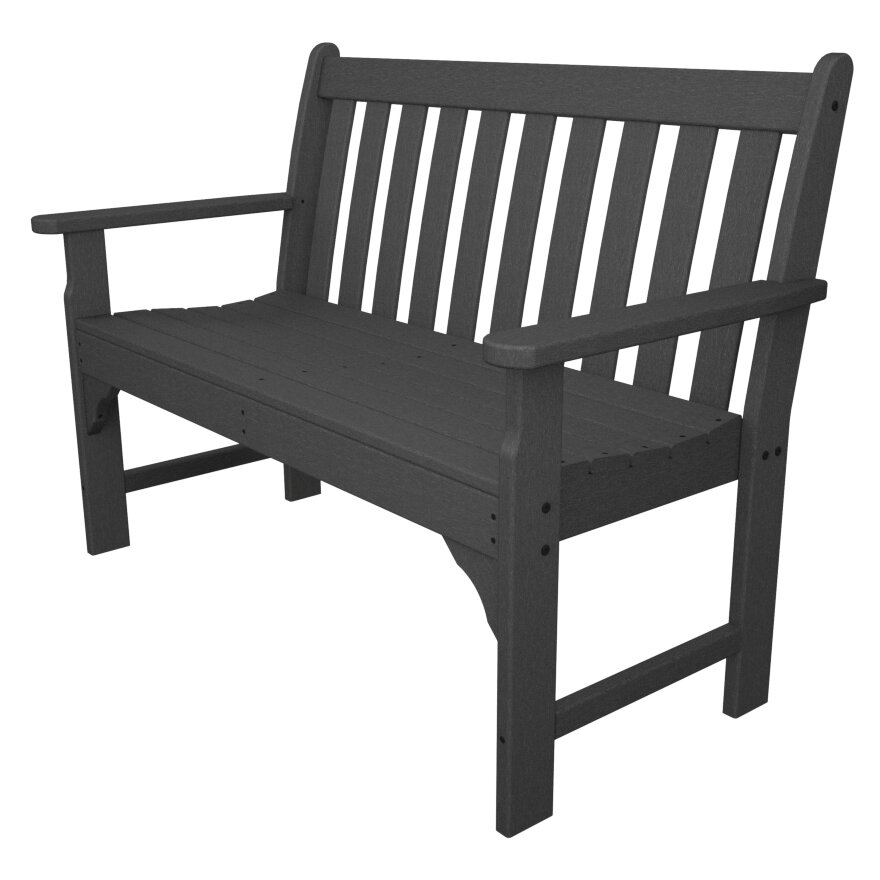 Polywood vineyard plastic garden bench reviews wayfair Polywood bench