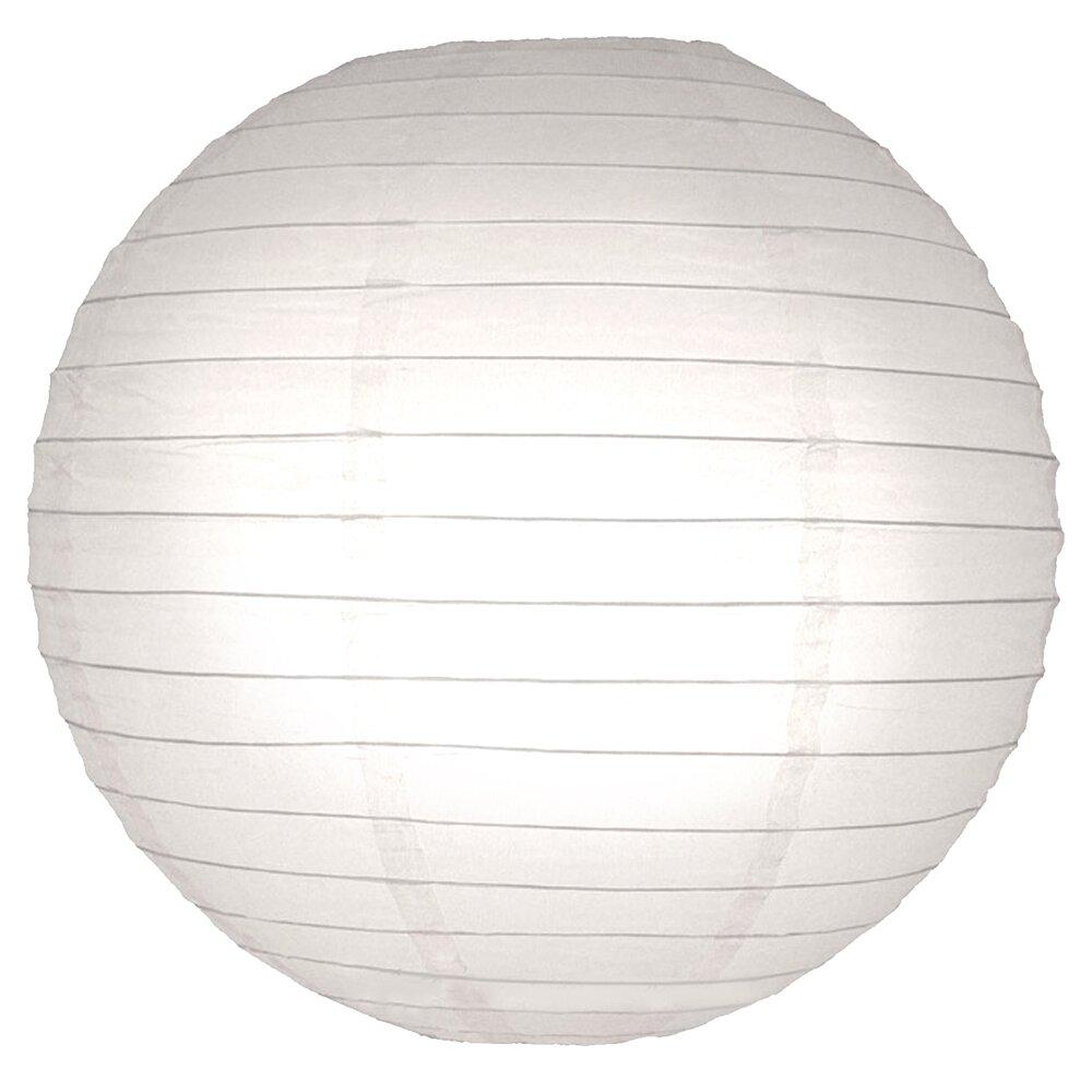 Luminarias Round Paper Lantern & Reviews