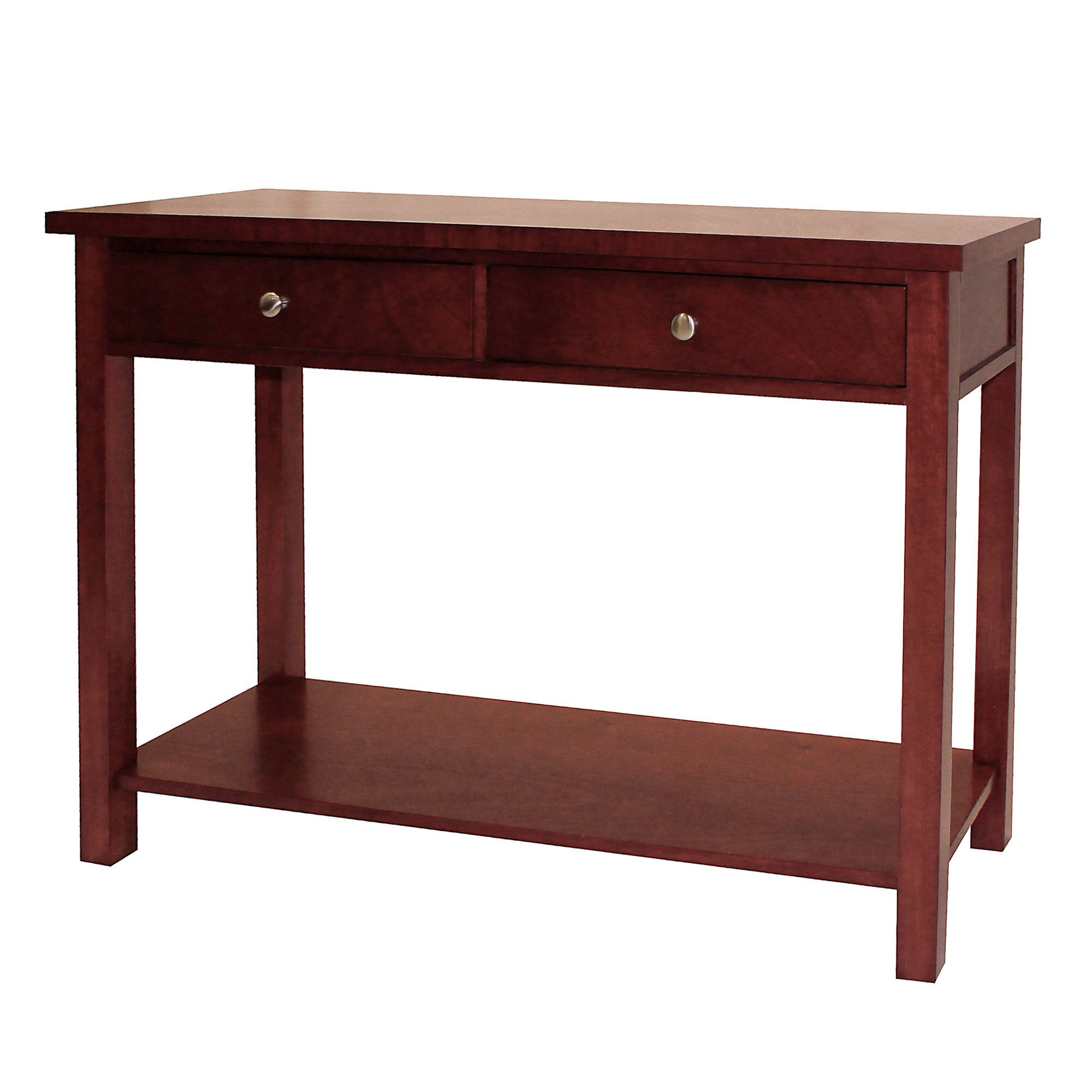 donnieann company oakdale console table reviews wayfair. Black Bedroom Furniture Sets. Home Design Ideas