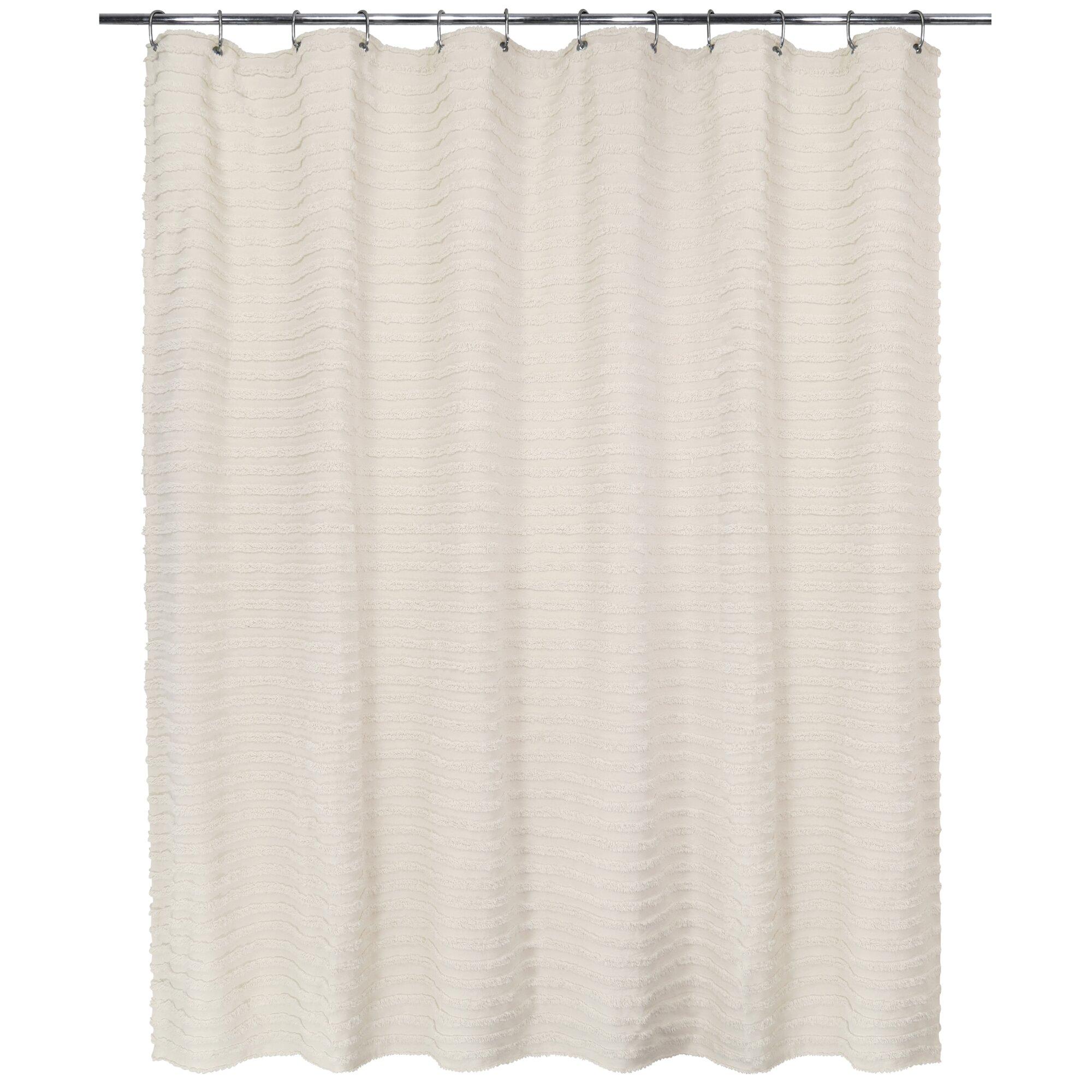 Park B Smith Ltd 100% Cotton Ultra Spa Shower Curtain
