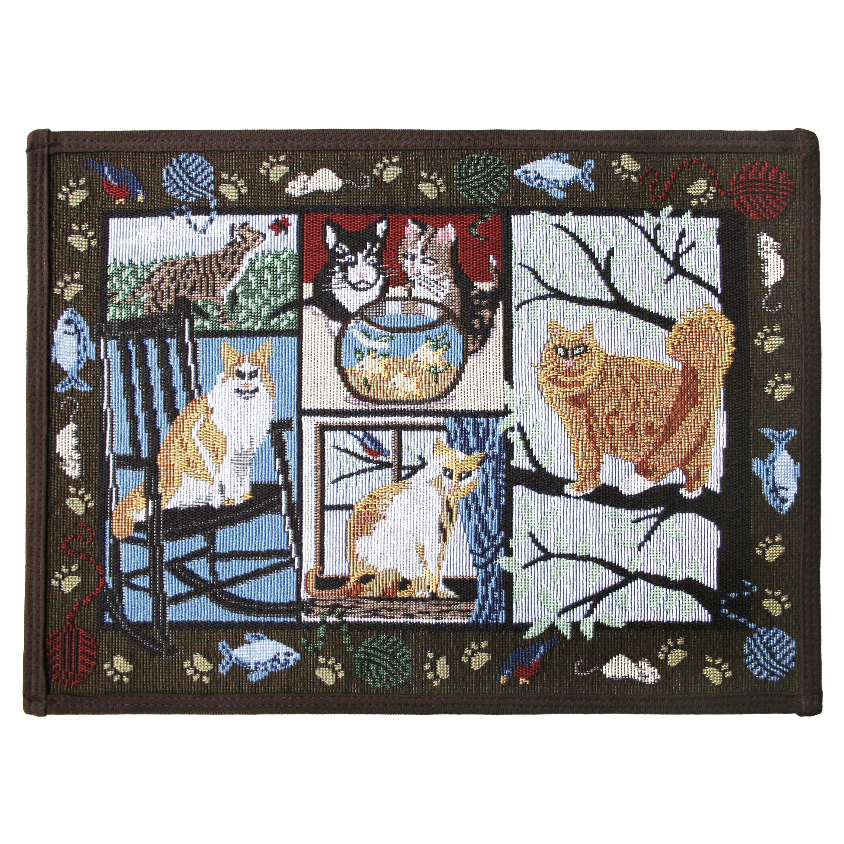 Park B Smith Ltd Pb Paws Amp Co Woodland Cat Days Tapestry