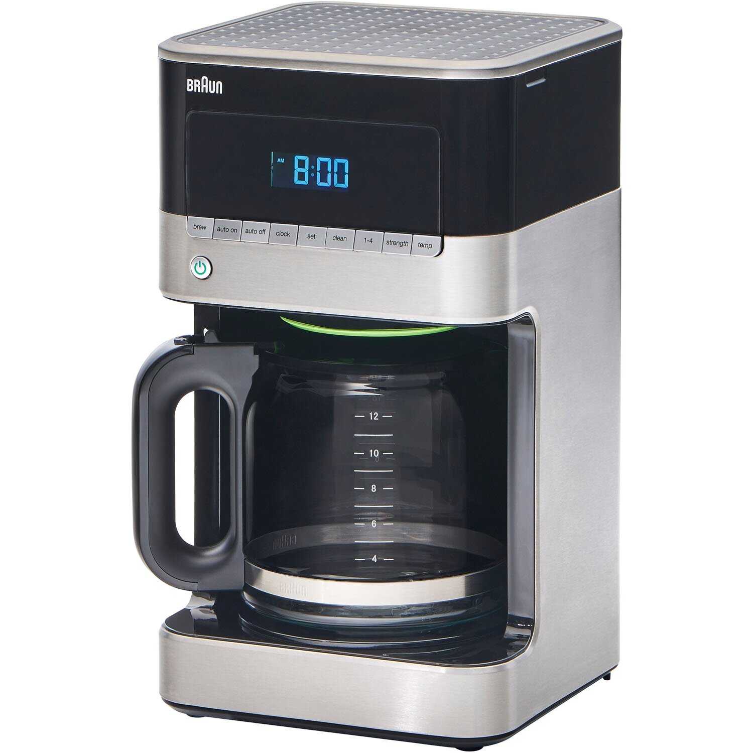 Braun BrewSense 12 Cup Drip Coffee Maker & Reviews Wayfair