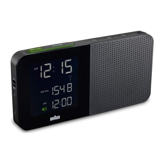 braun digital alarm clock radio reviews wayfair. Black Bedroom Furniture Sets. Home Design Ideas