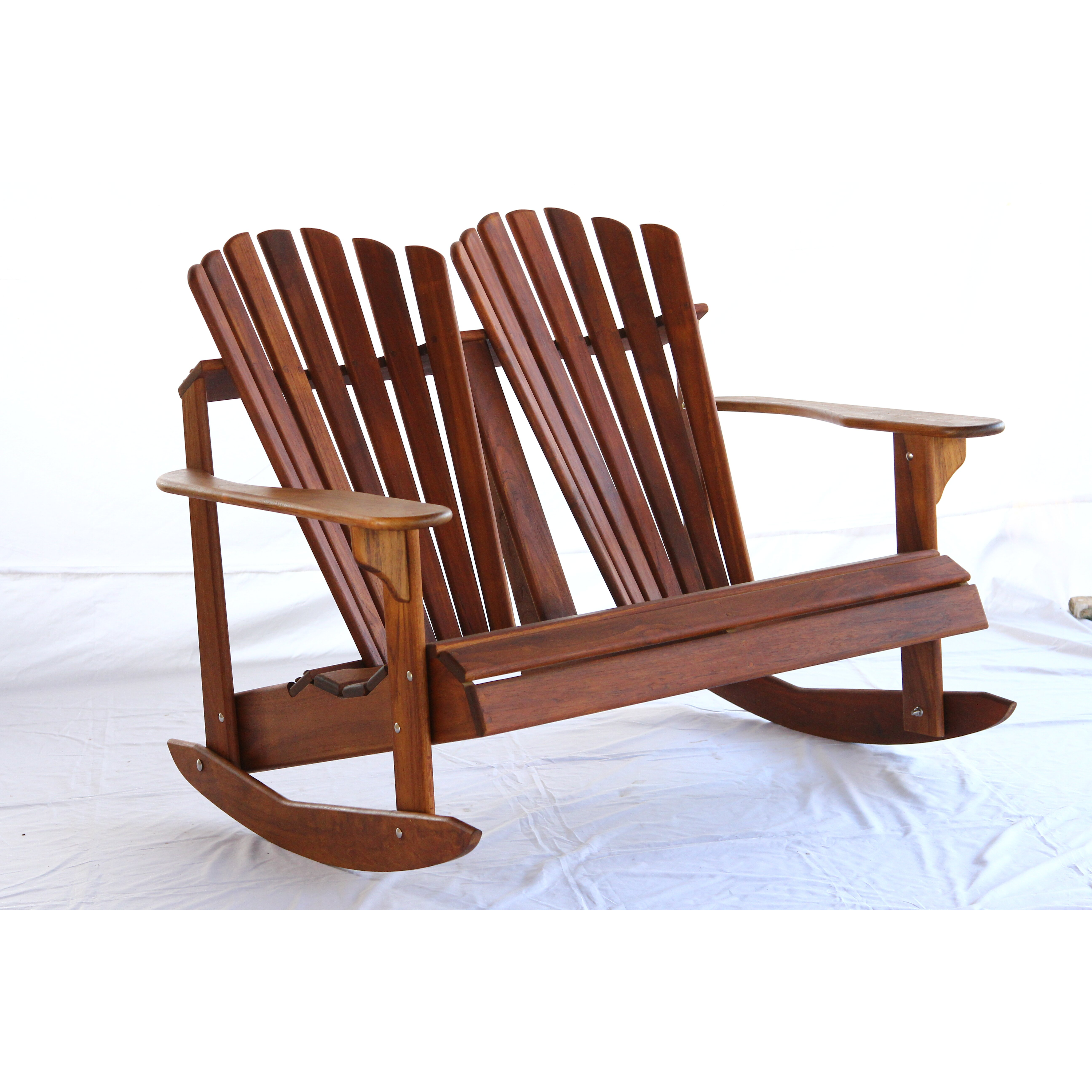 The essential guide to adirondack chairs one kings lane - Rocking Adirondack Chairs Hyre S Country Signature Teak Adirondack Back Rocking Chair Wayfair