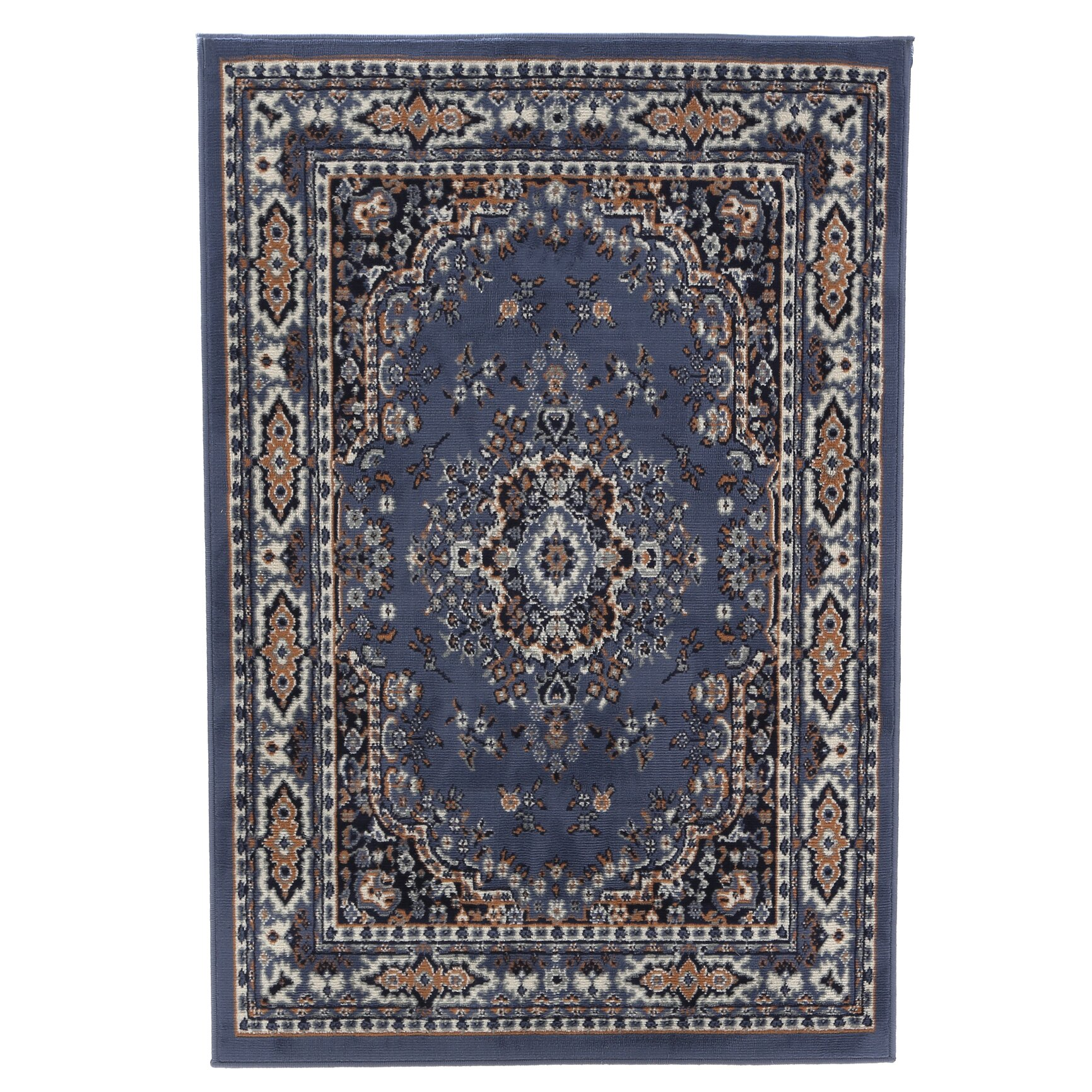 Home Dynamix Premium Country Blue Area Rug & Reviews