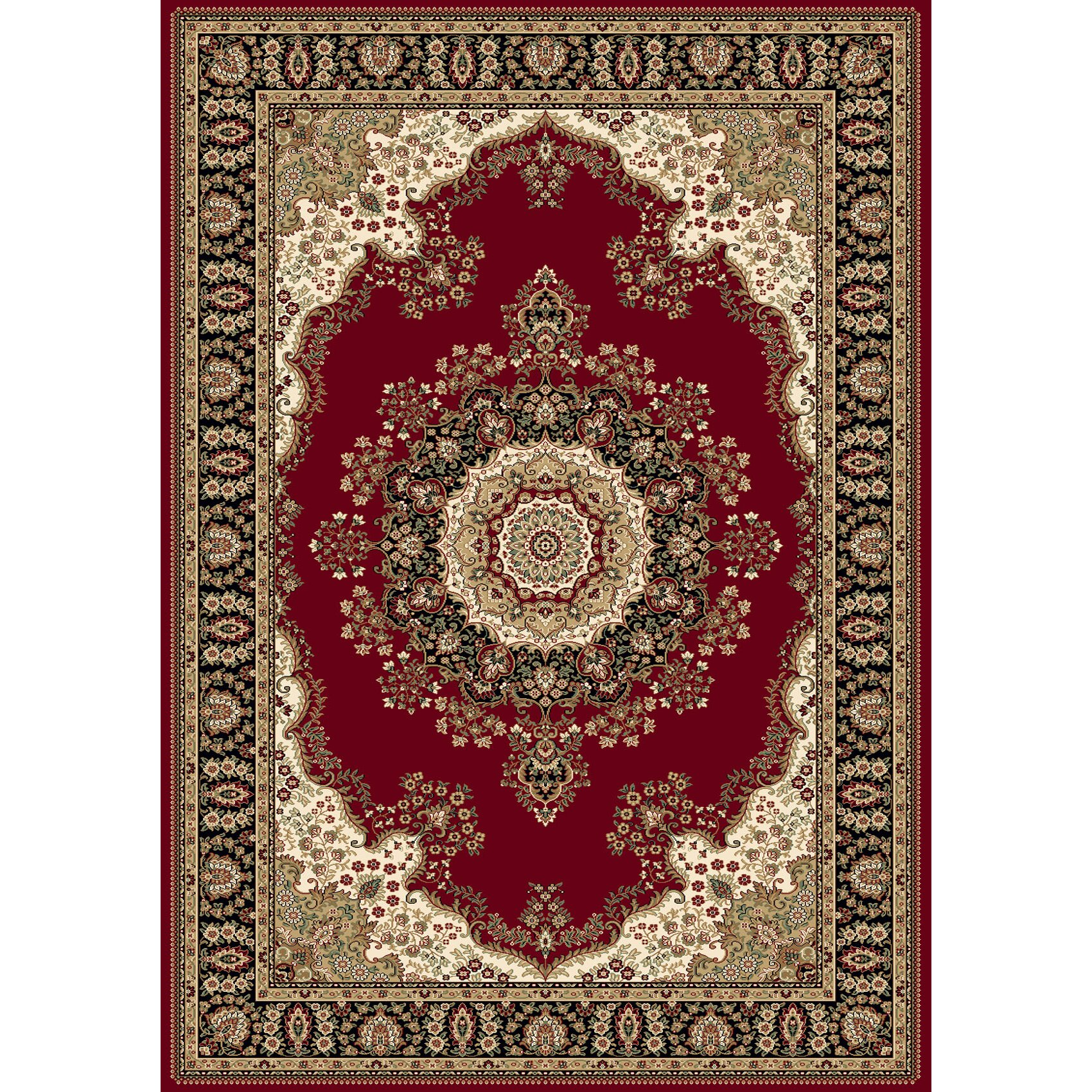 Foyer Rugs For Christmas: Home Dynamix Regency Red Area Rug & Reviews