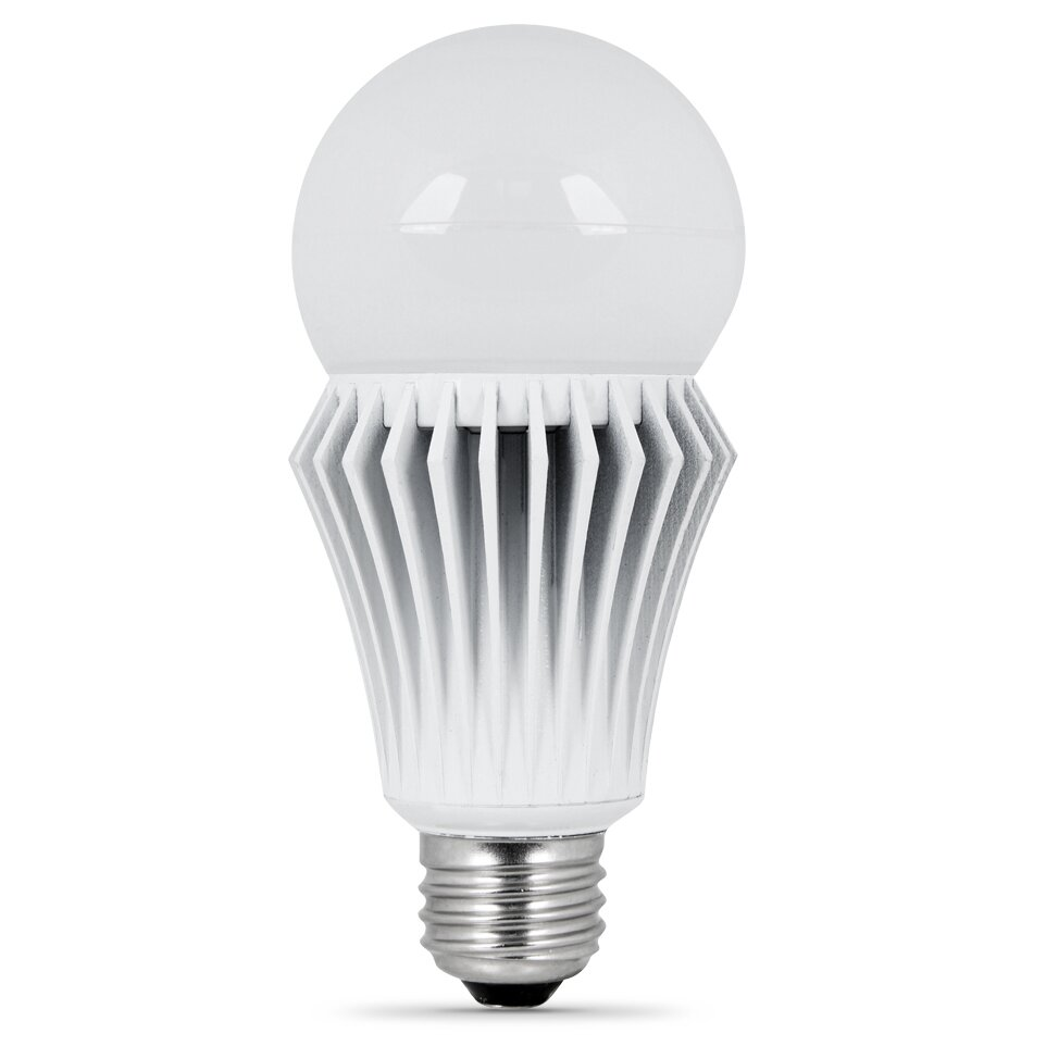 feit electric frosted e26 medium led light bulb reviews wayfair. Black Bedroom Furniture Sets. Home Design Ideas