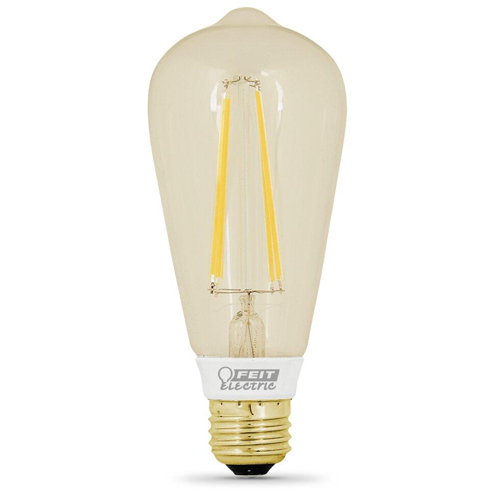Feit Electric 60w 120 Volt Led Light Bulb Reviews Wayfair