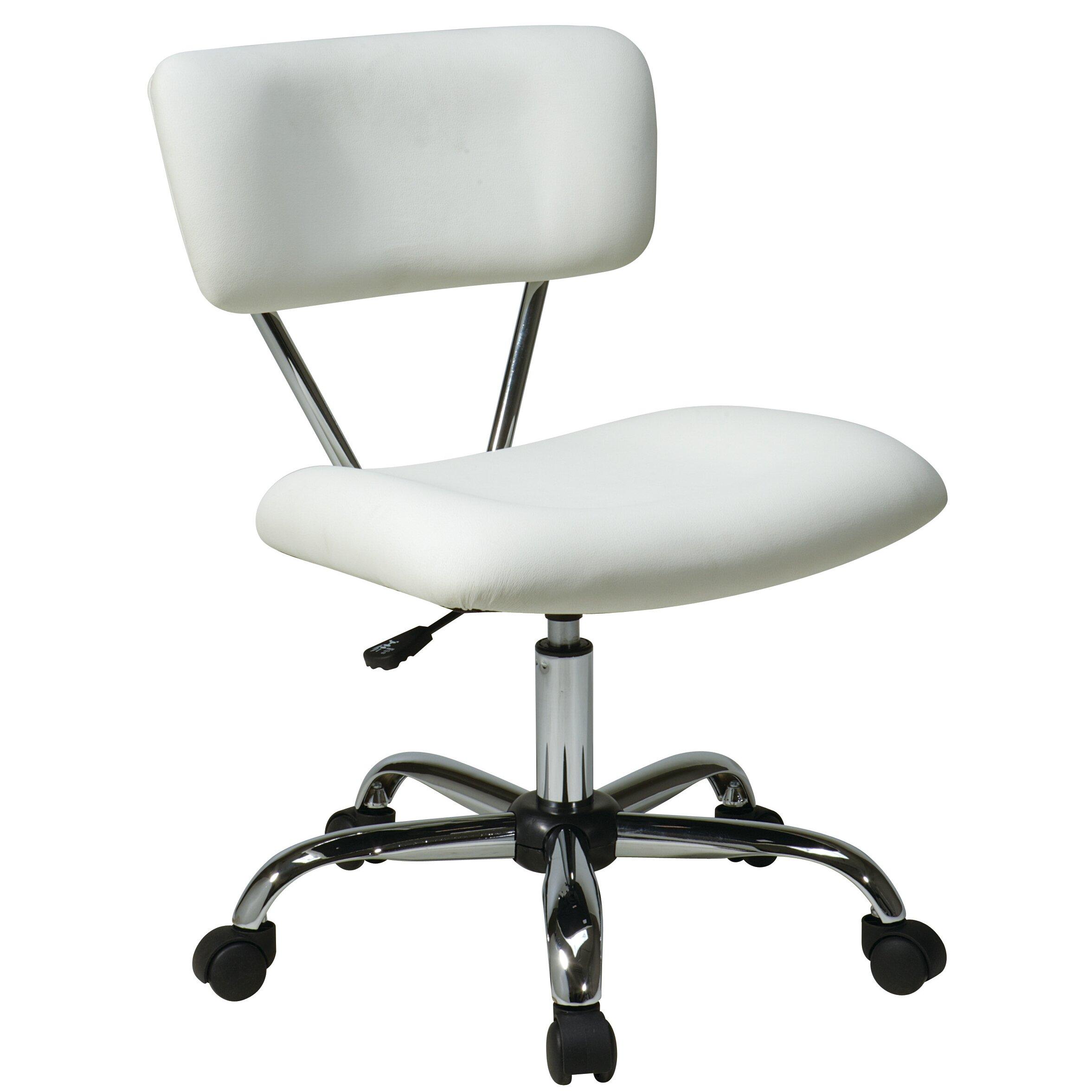 Zipcode Design Julius Adjustable Mid Back Office Chair Reviews Wayfair
