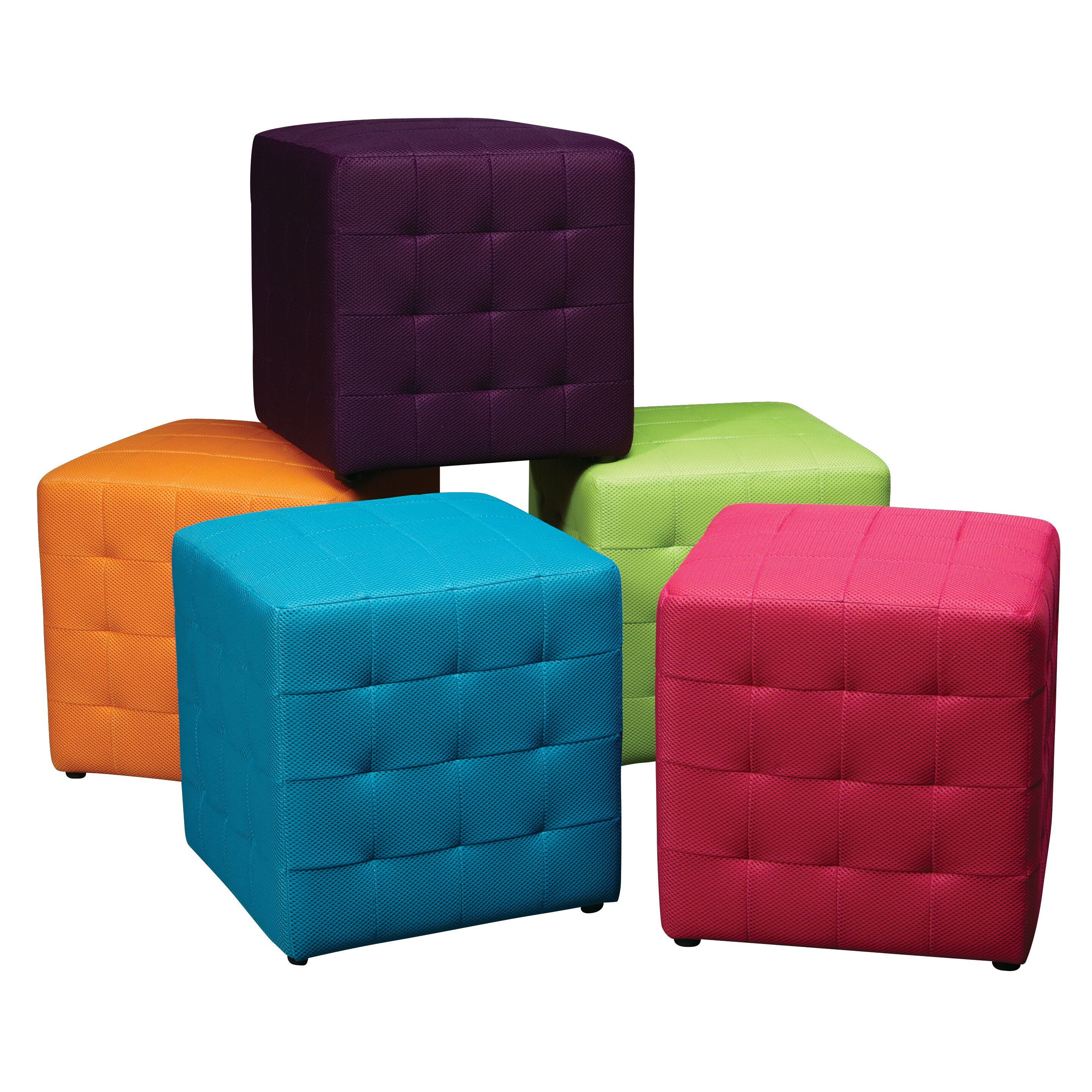 Ave Six Detour Cube Ottoman Reviews Wayfair
