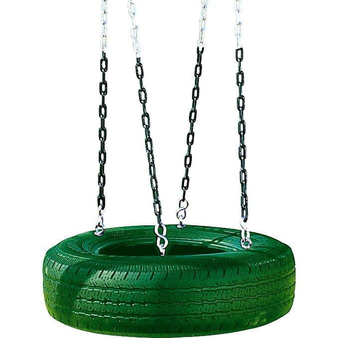 Creative Playthings Single Axis Tire Swing Amp Reviews Wayfair