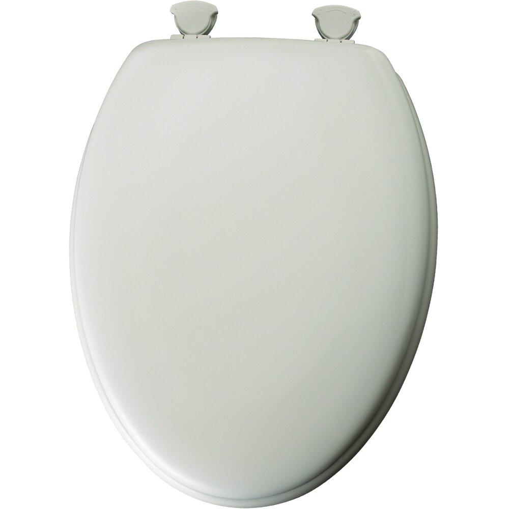 Mayfair Traditional Wood Elongated Toilet Seat Reviews Wayfair
