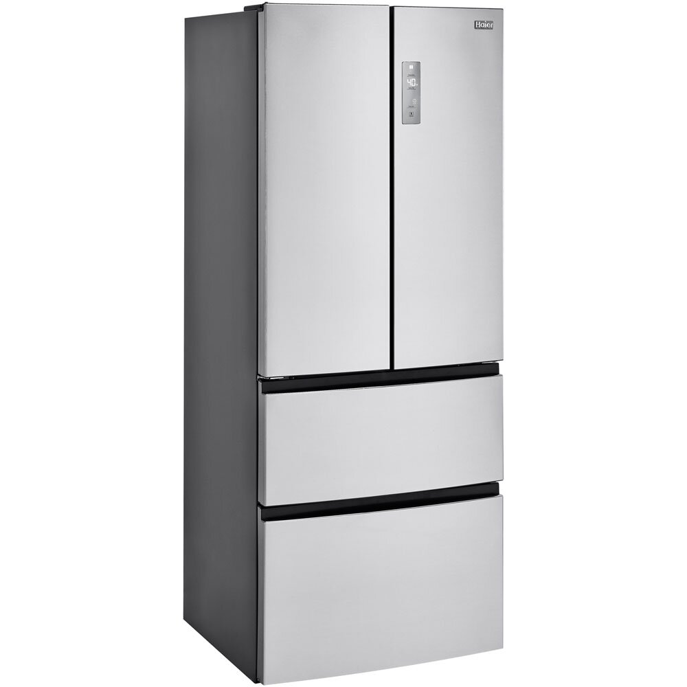 French Door Refrigerators: Haier 14.97 Cu. Ft. French Door Refrigerator & Reviews