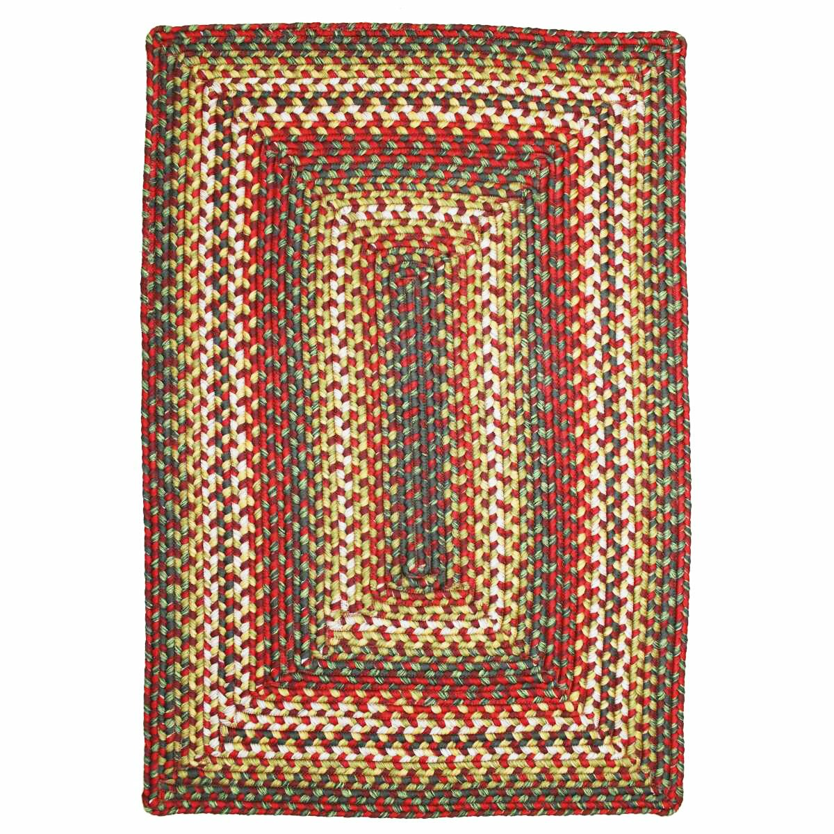 homespice decor sunrose red indoor outdoor rug reviews
