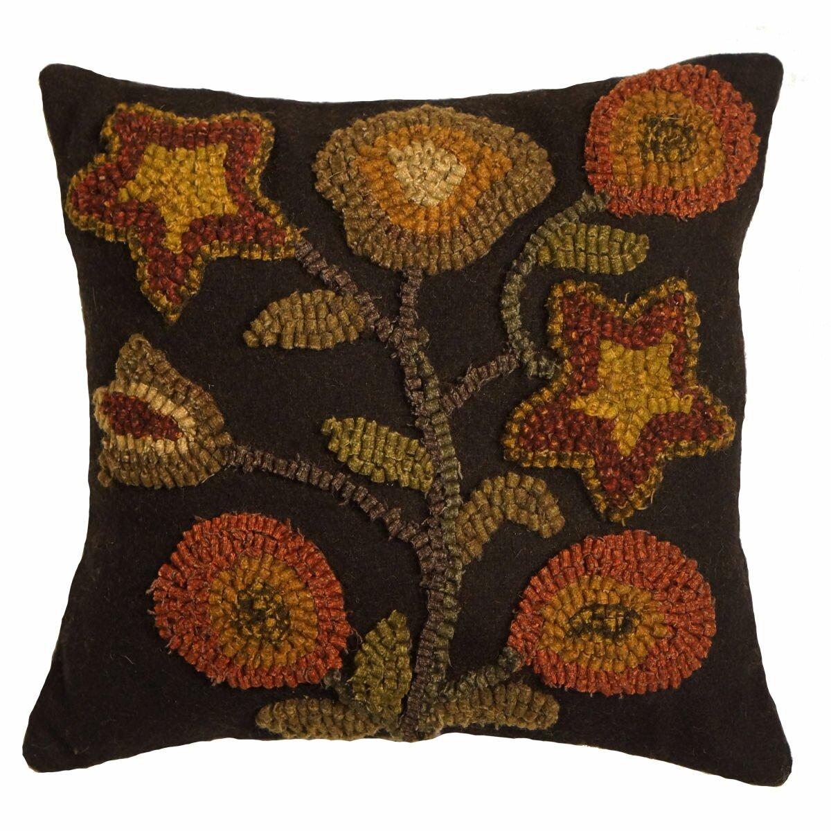 Primitive Throw Pillows For Couch : Homespice Decor Primitive Stargazer Handcrafted Throw Pillow & Reviews Wayfair