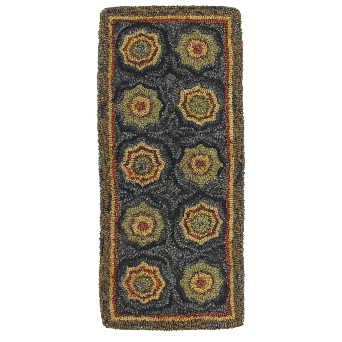 Homespice Decor Lilly Pad Hooked Table Runner Wayfair