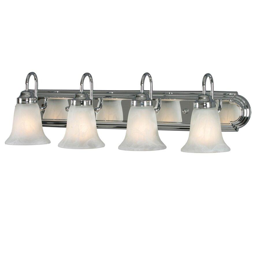 Chrome Vanity Light Clearance : Wildon Home Rochester 4 Light Vanity Light Wayfair