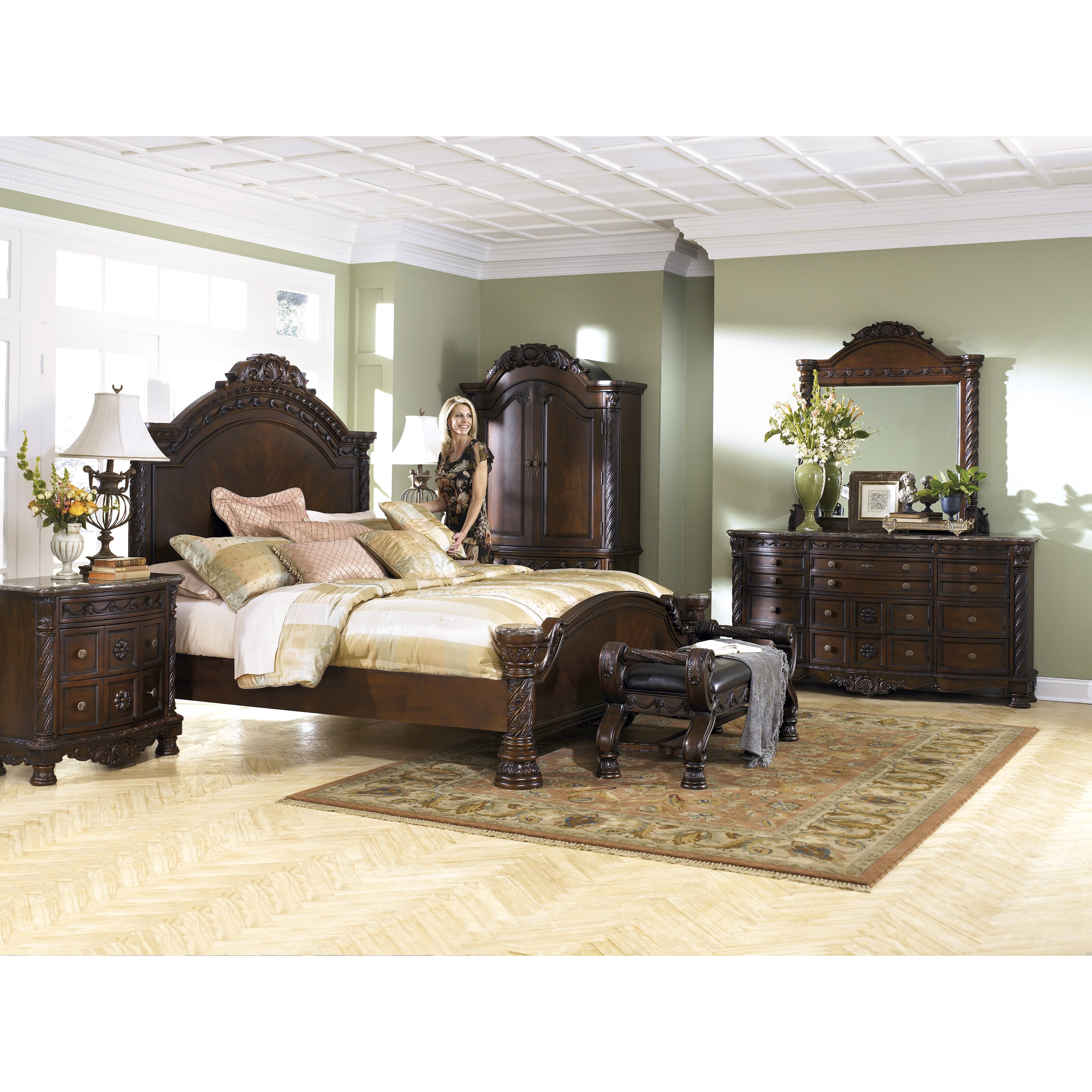Patio Furniture For Sale In Fayetteville Nc: Wildon Home ® North Shore Upholstered Bedroom Bench