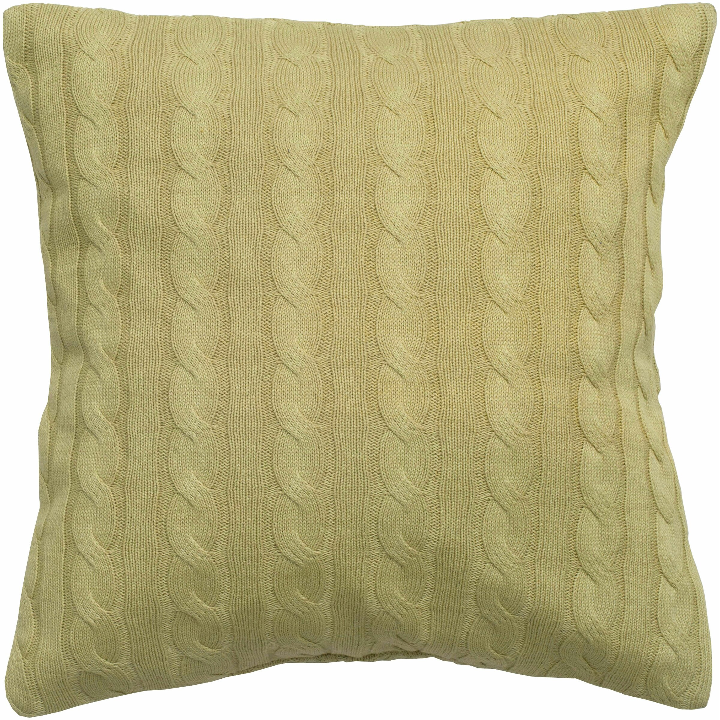 Throw Pillows With Buttons : Wildon Home Cable Knit Wooden Button Closure Throw Pillow & Reviews Wayfair