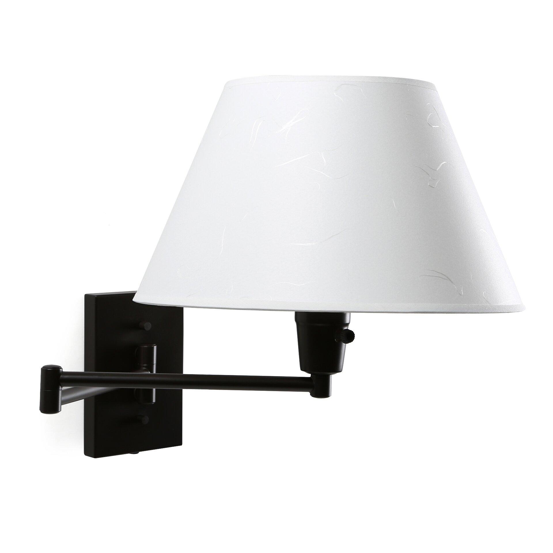 Wildon Home Errol Swing Arm Wall Lamp I & Reviews Wayfair