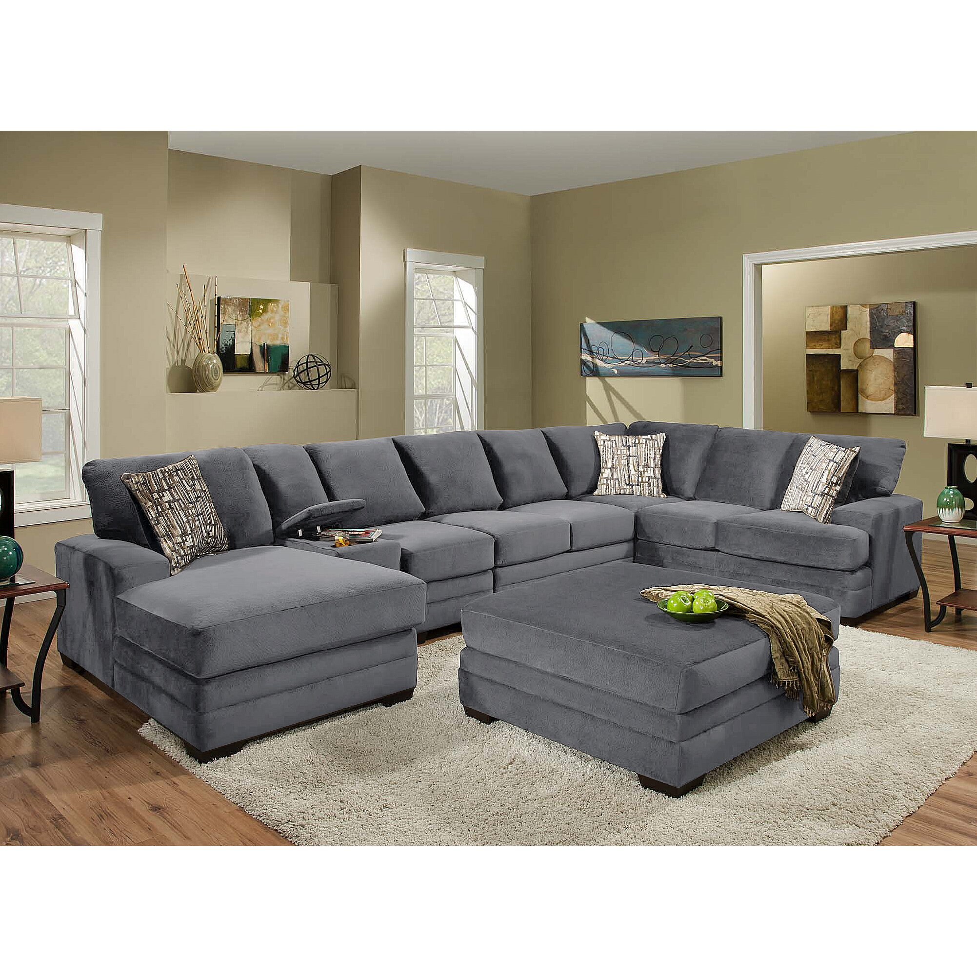 Wildon Home Waverly Sectional Reviews