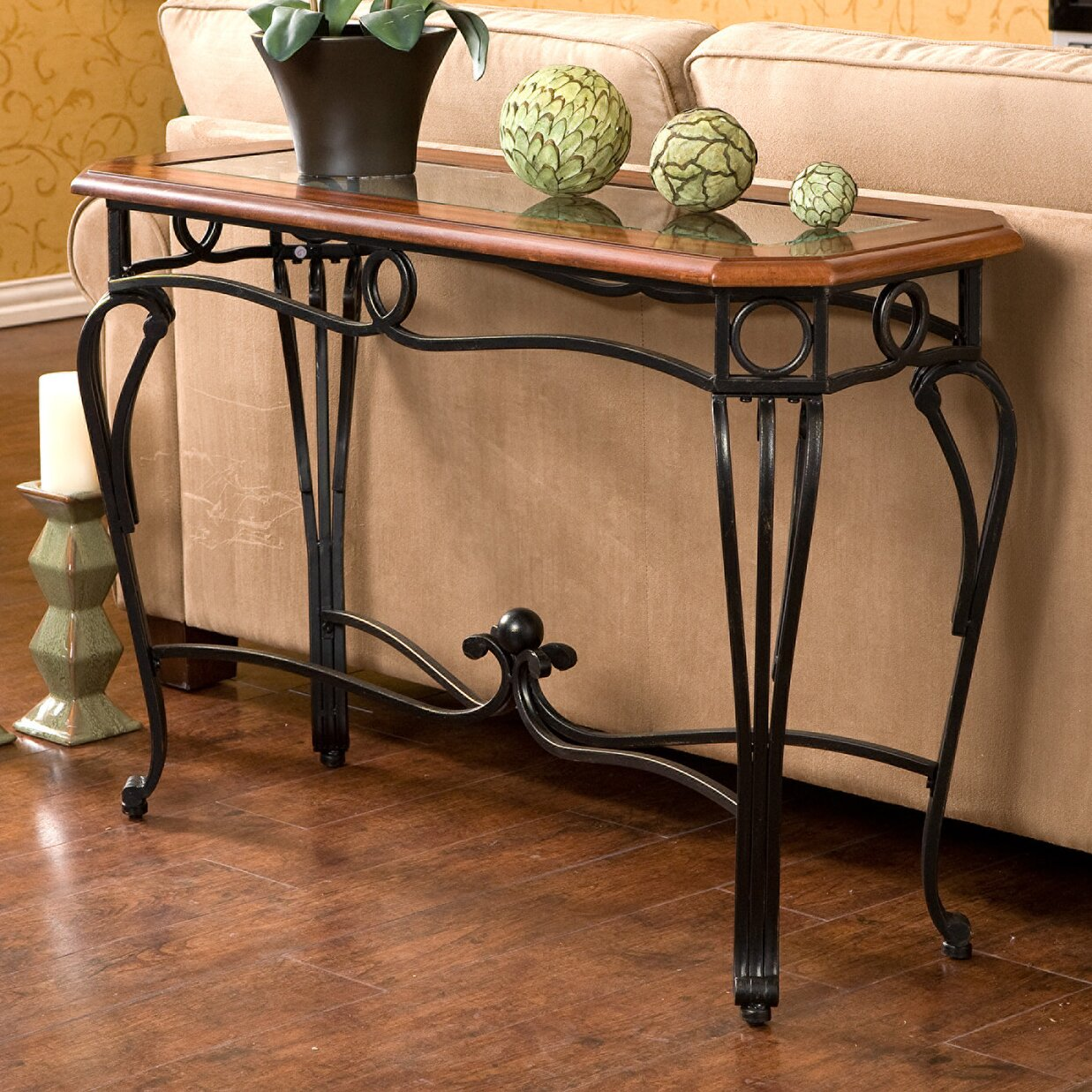 charlton home broughton console table reviews. Black Bedroom Furniture Sets. Home Design Ideas