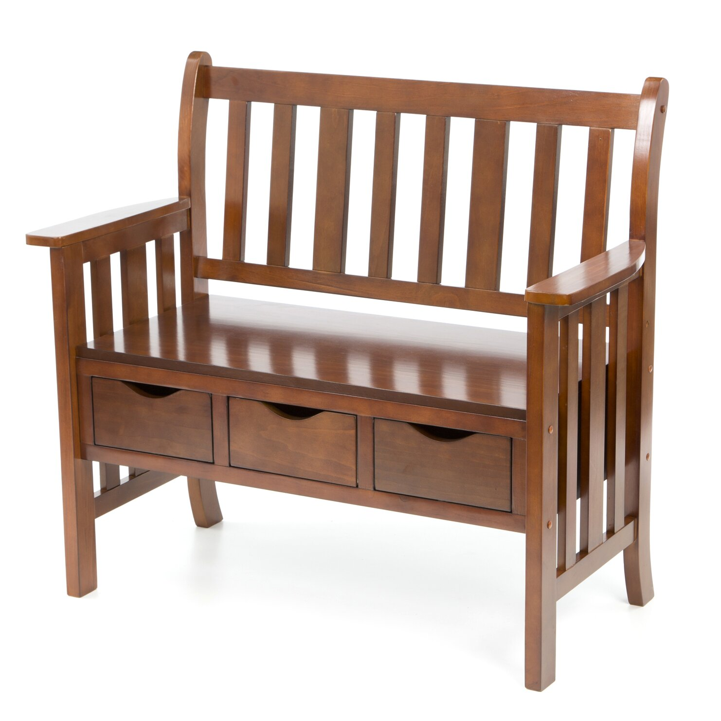 Wildon Home Davidson Storage Wood Entryway Bench Reviews Wayfair