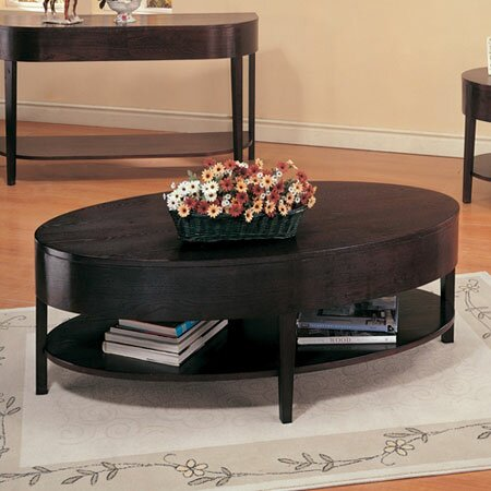 Wildon home bishop hills coffee table reviews wayfair for Coffee tables the range