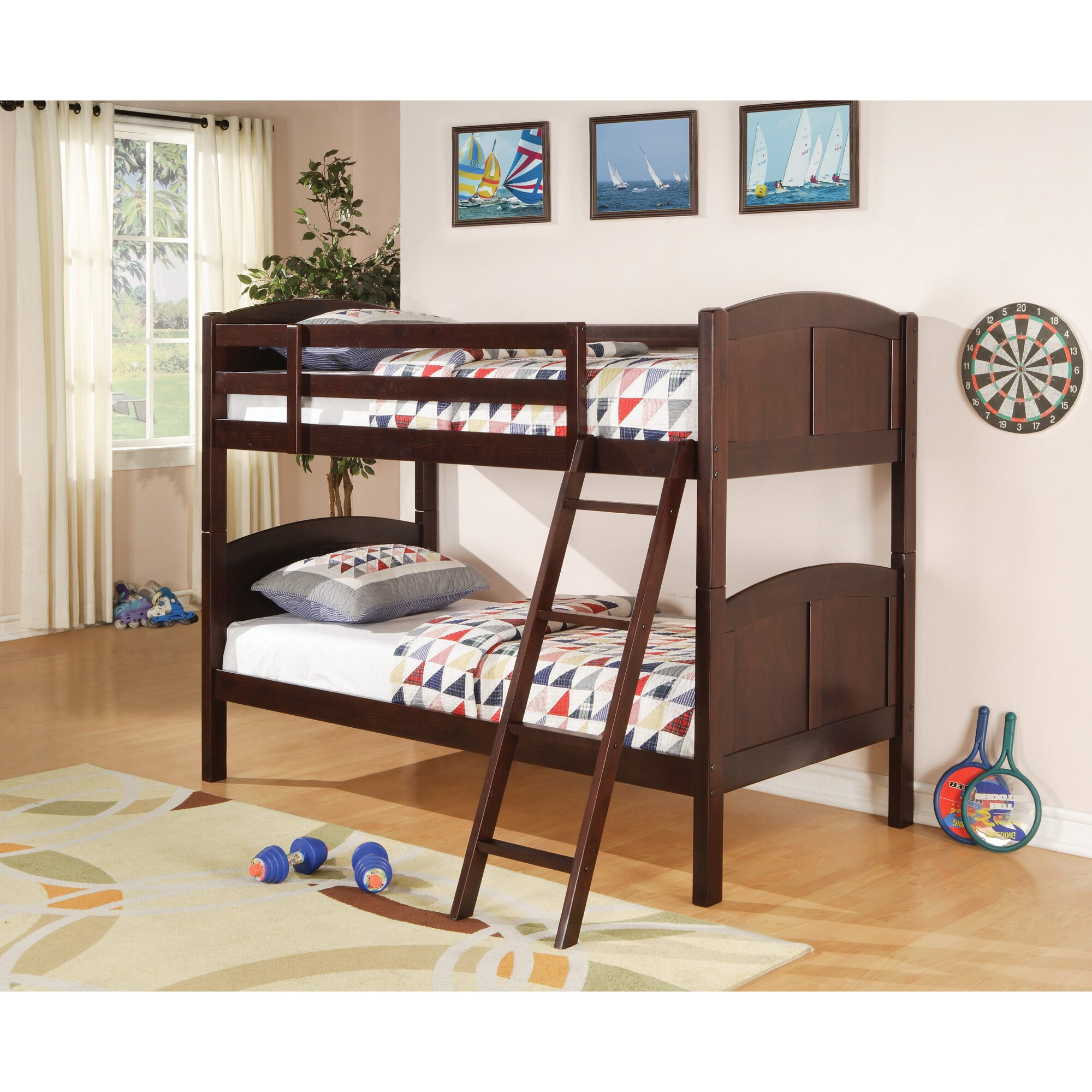 Wildon Home Oberon Twin Bunk Bed Reviews Wayfair