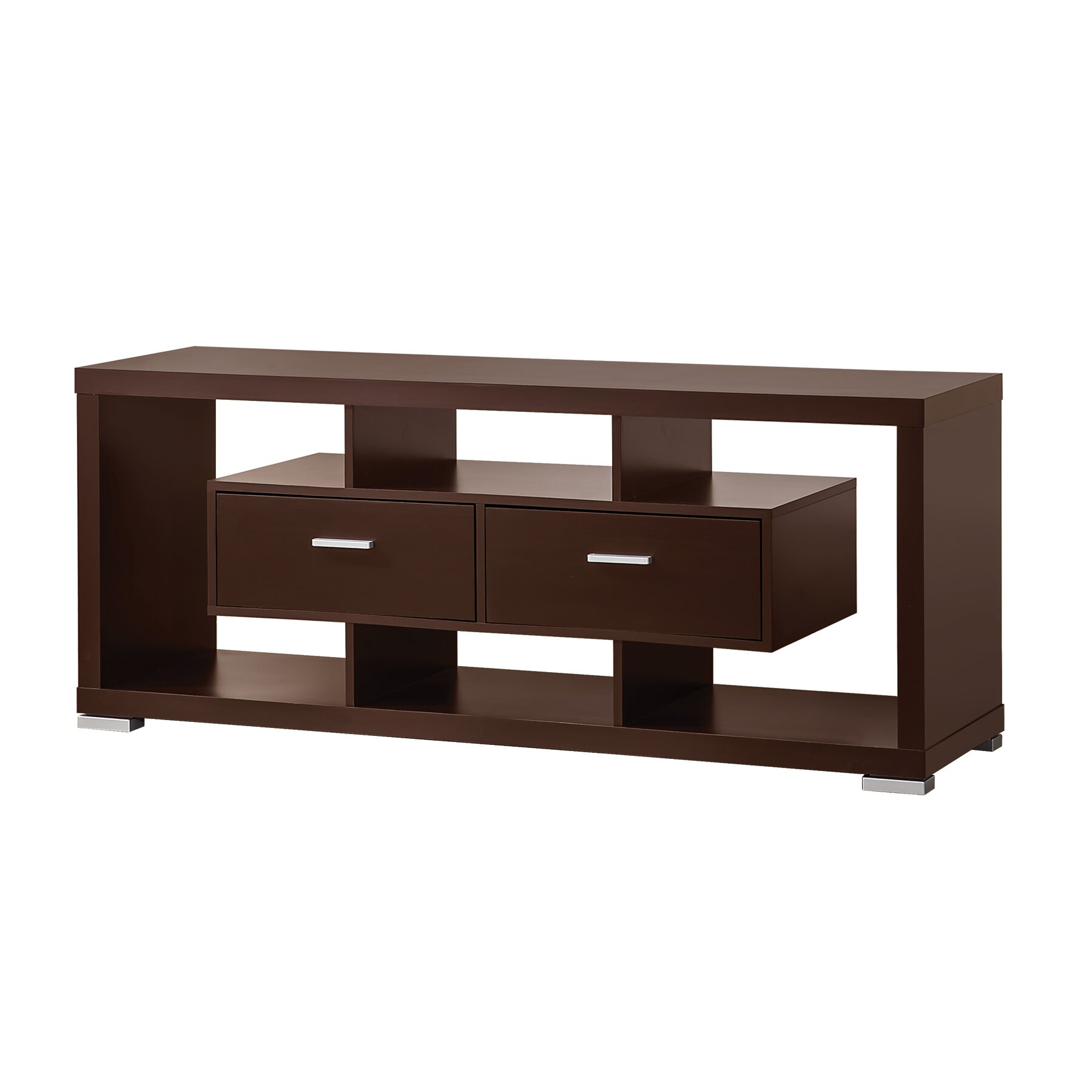 Wildon Home R TV Stand In Cappuccino Amp Reviews